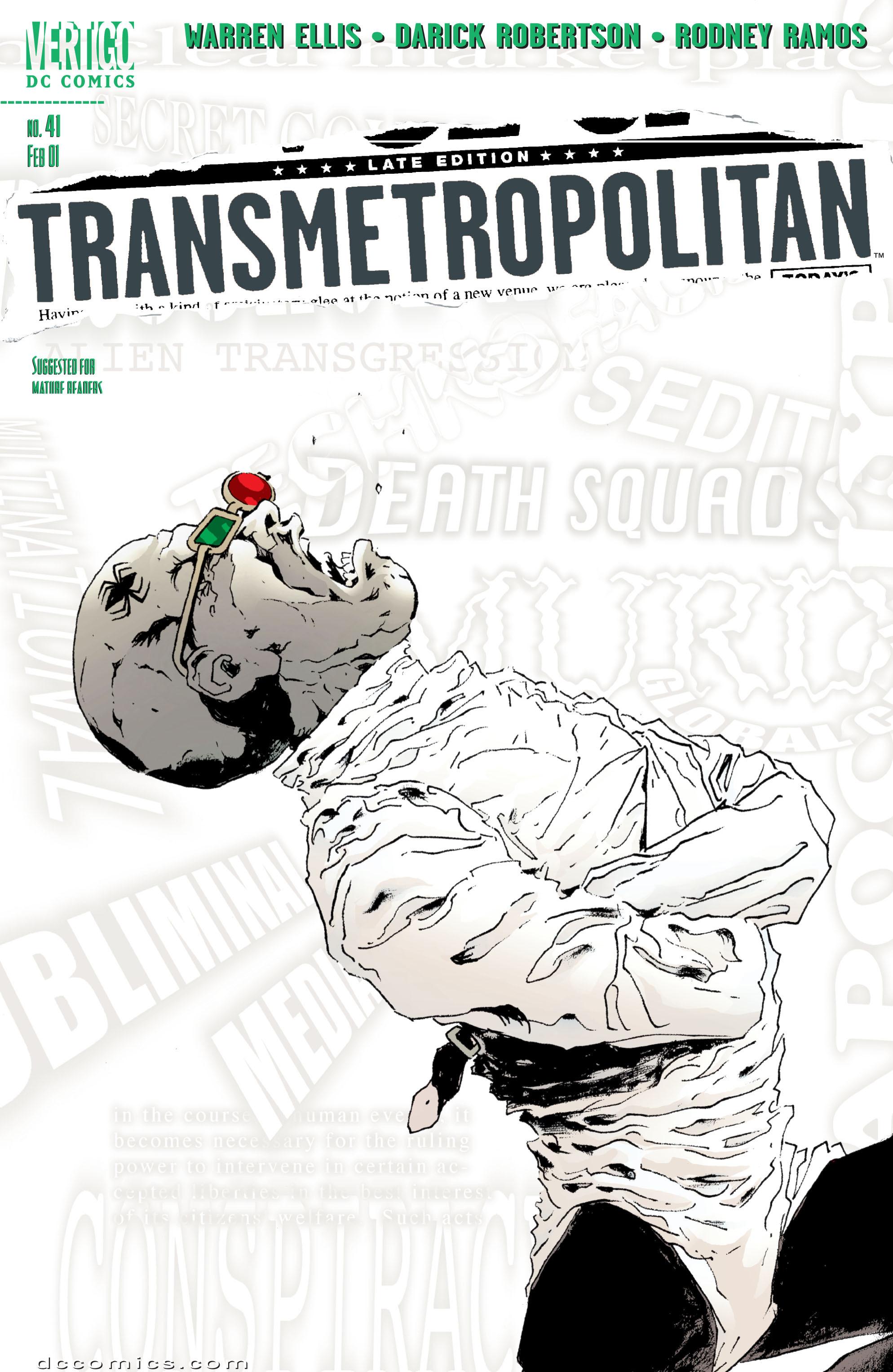 Transmetropolitan 41 Page 1