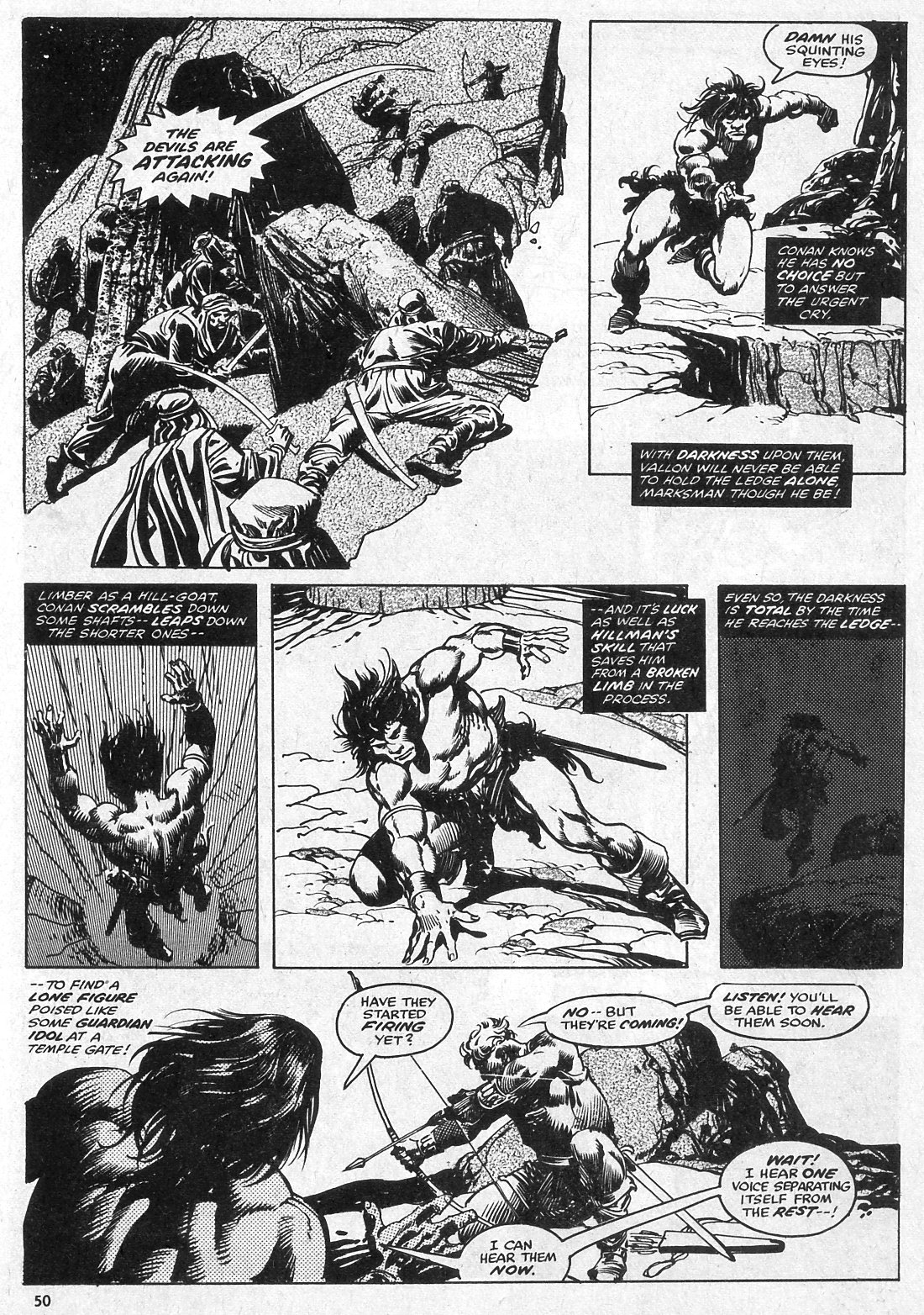 The Savage Sword Of Conan Issue #28 #29 - English 50