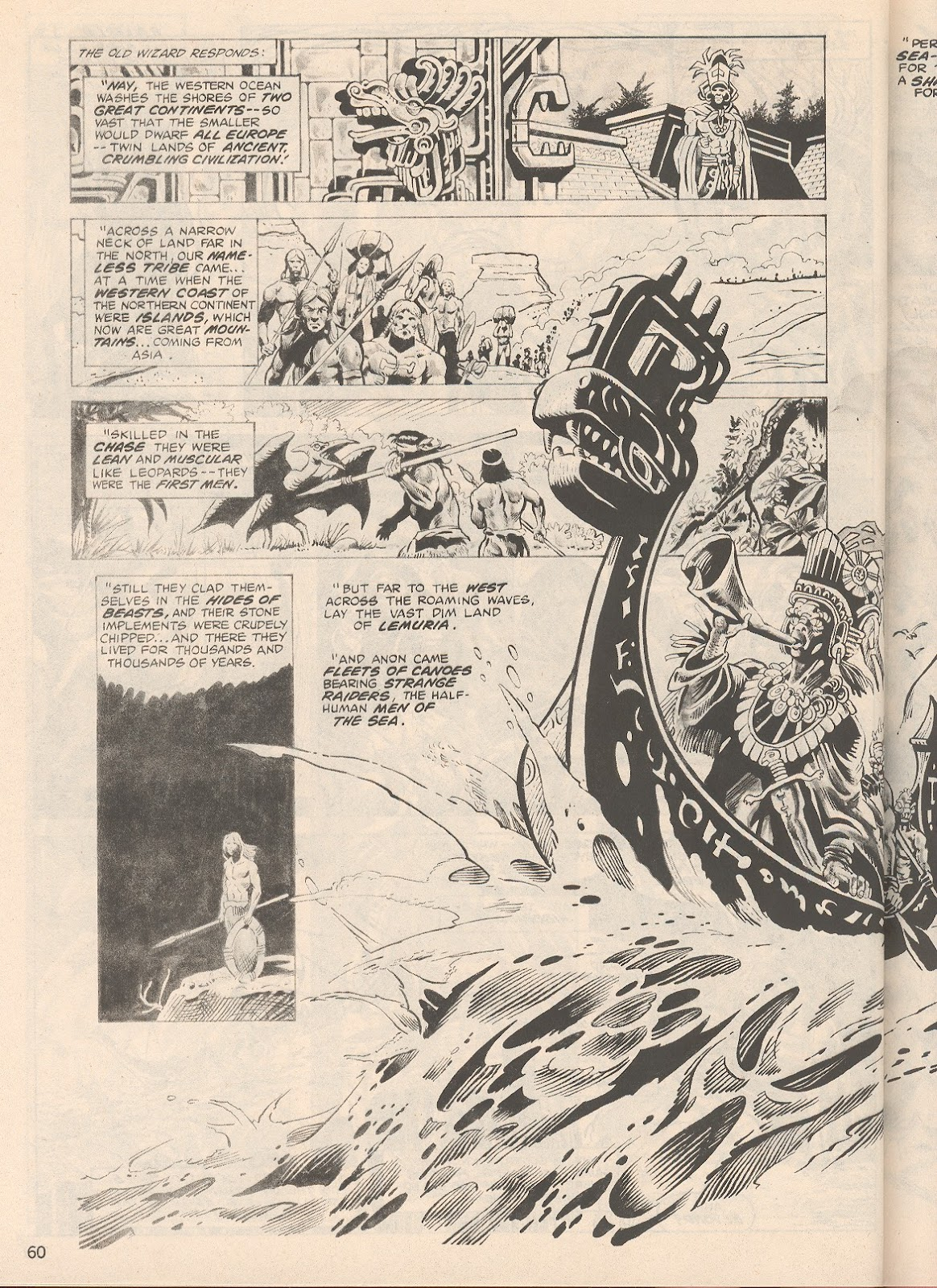 The Savage Sword Of Conan Issue #104 #105 - English 60