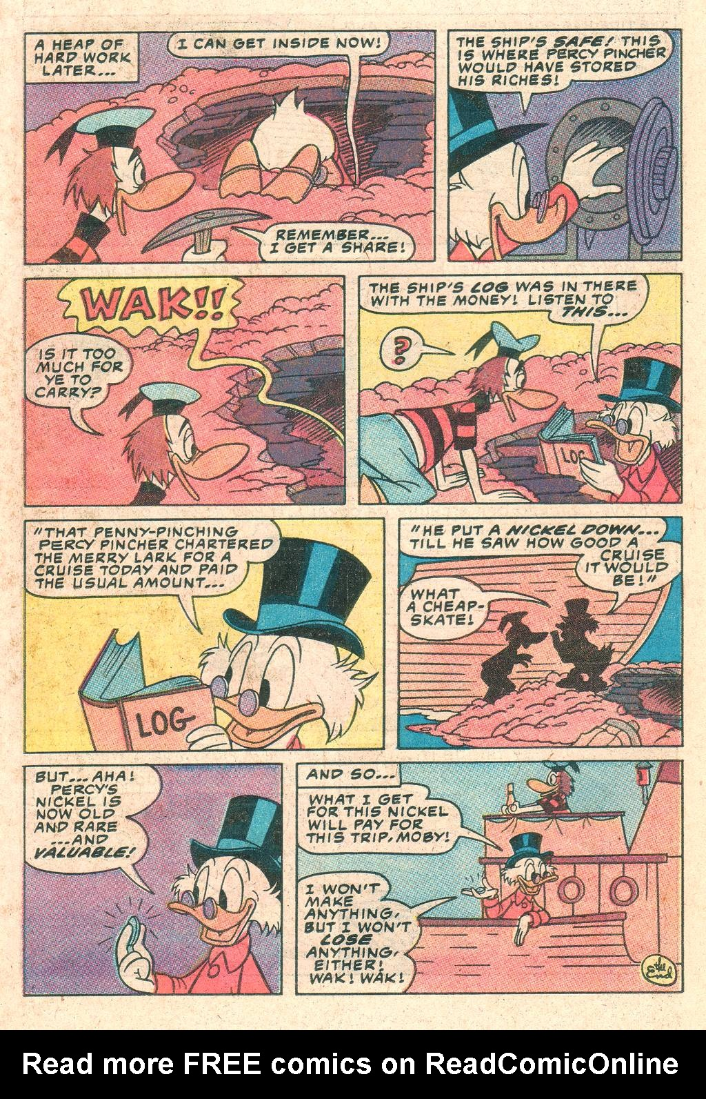 Uncle Scrooge (1953) Issue #198 #198 - English 22