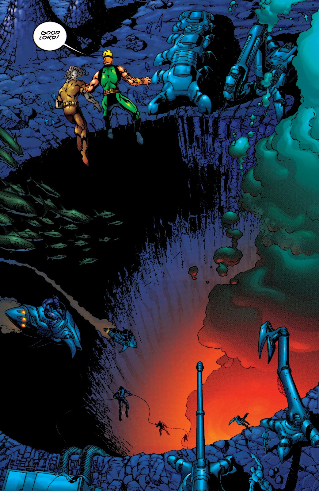 Aquaman (1994) Issue #55 #61 - English 8