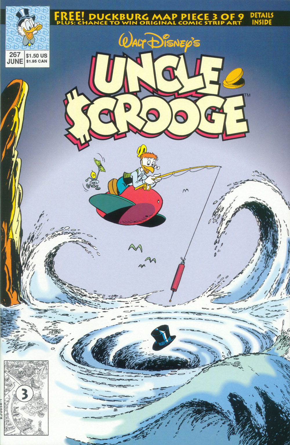 Uncle Scrooge (1953) Issue #267 #267 - English 1
