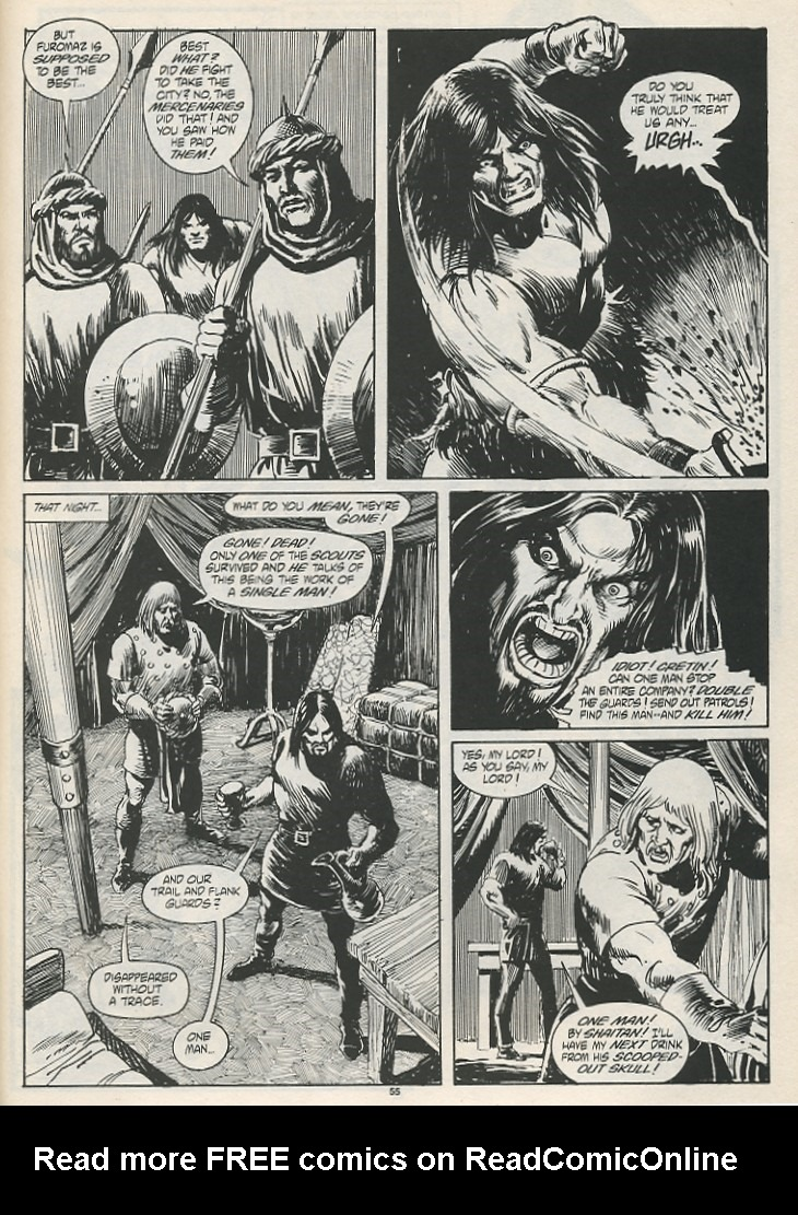 The Savage Sword Of Conan Issue #189 #190 - English 57