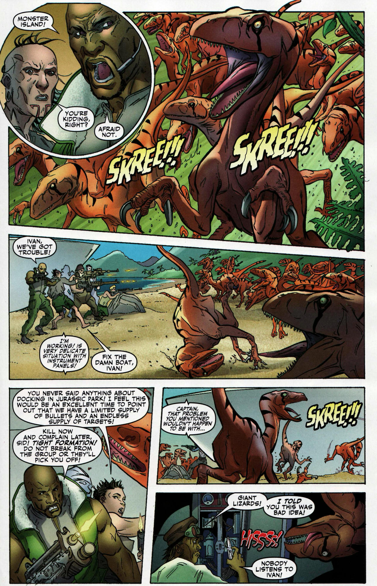 Read online Shanna the She-Devil: Survival of the Fittest comic -  Issue #1 - 8