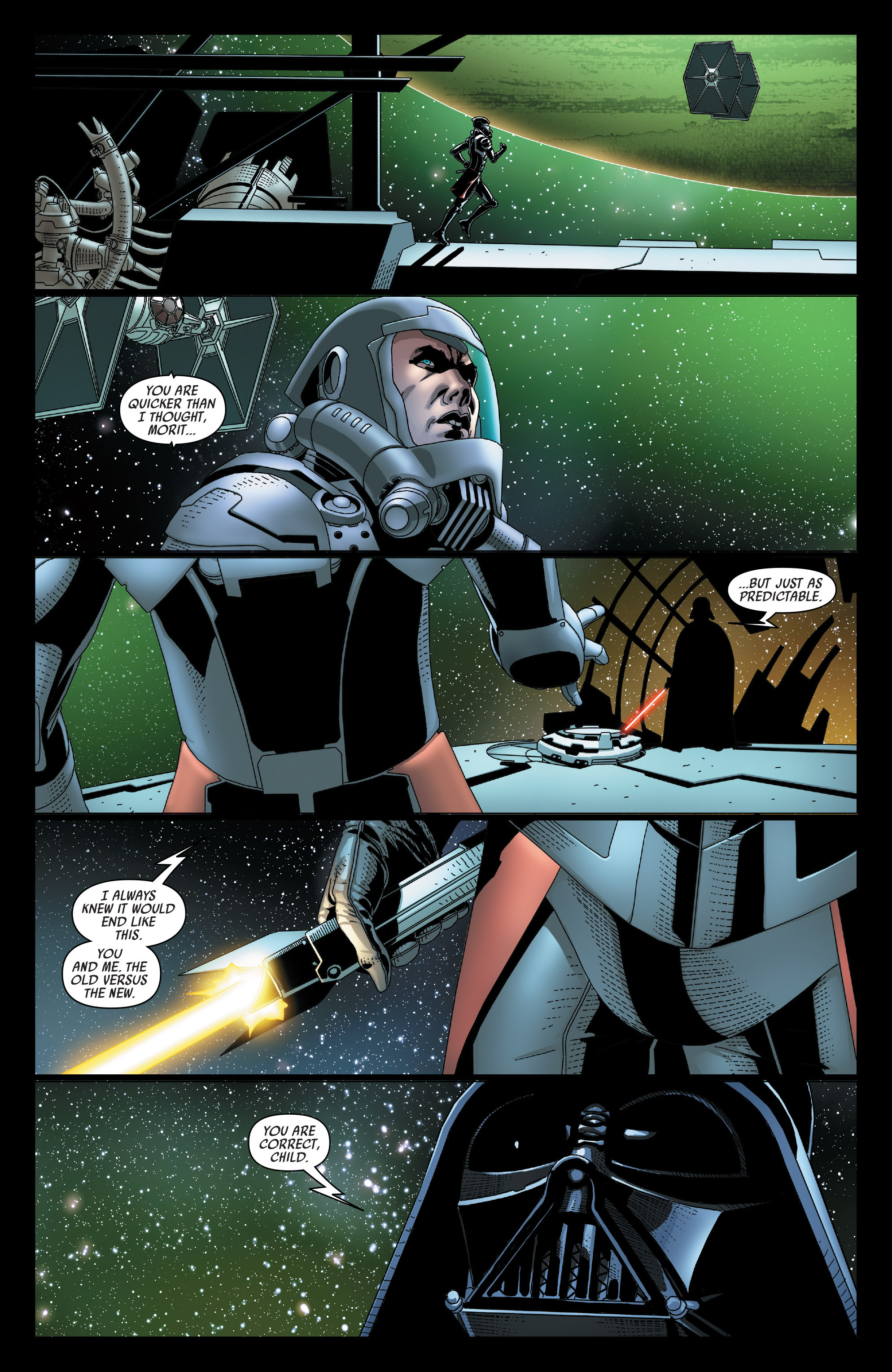 Read online Darth Vader comic -  Issue #23 - 11