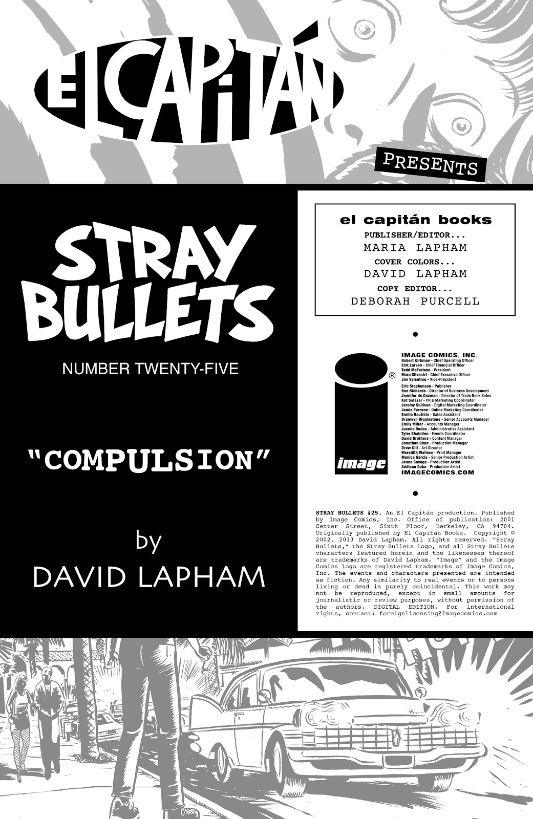 Stray Bullets Issue #25 #25 - English 2