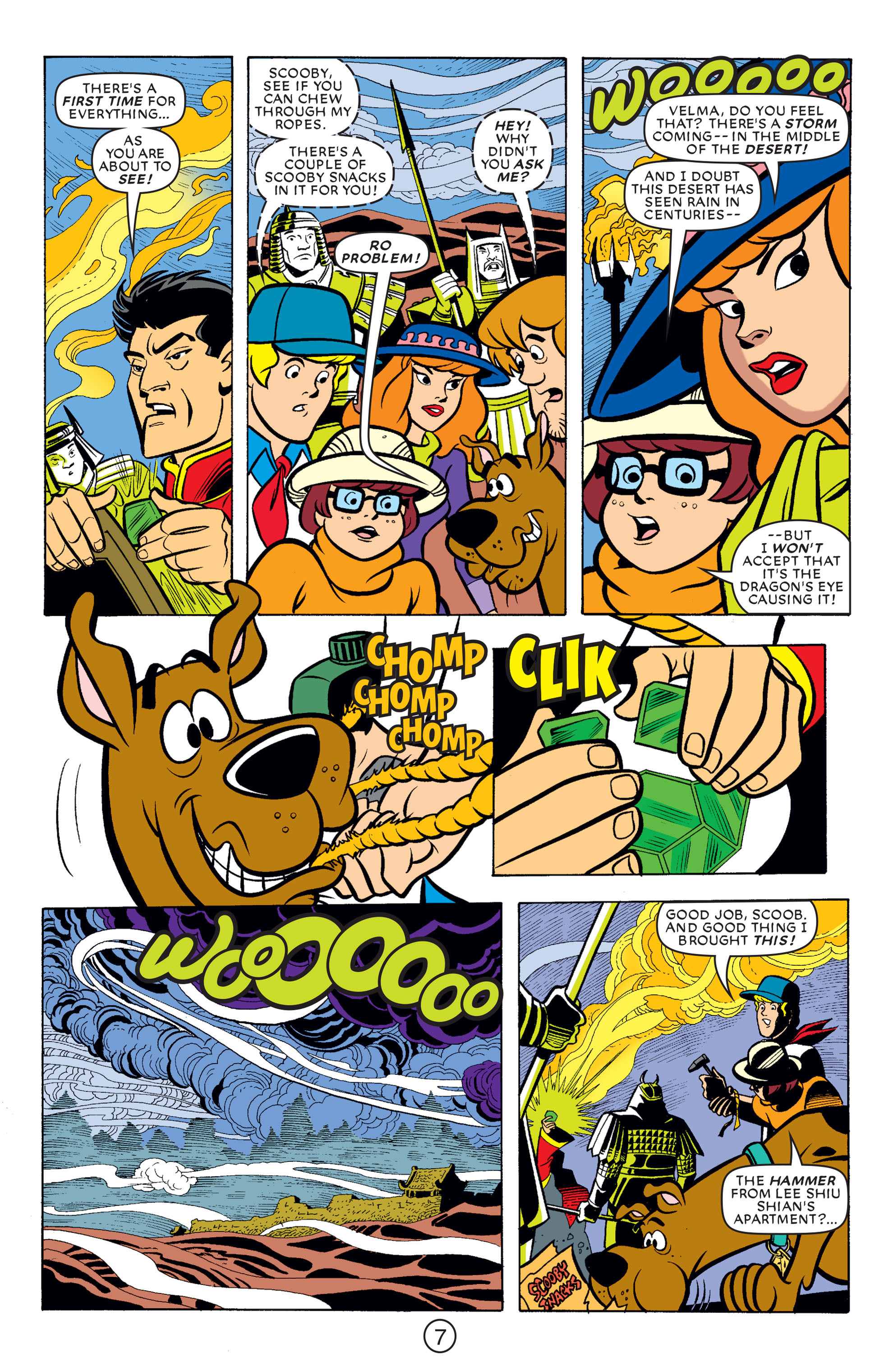 Read online Scooby-Doo (1997) comic -  Issue #66 - 18