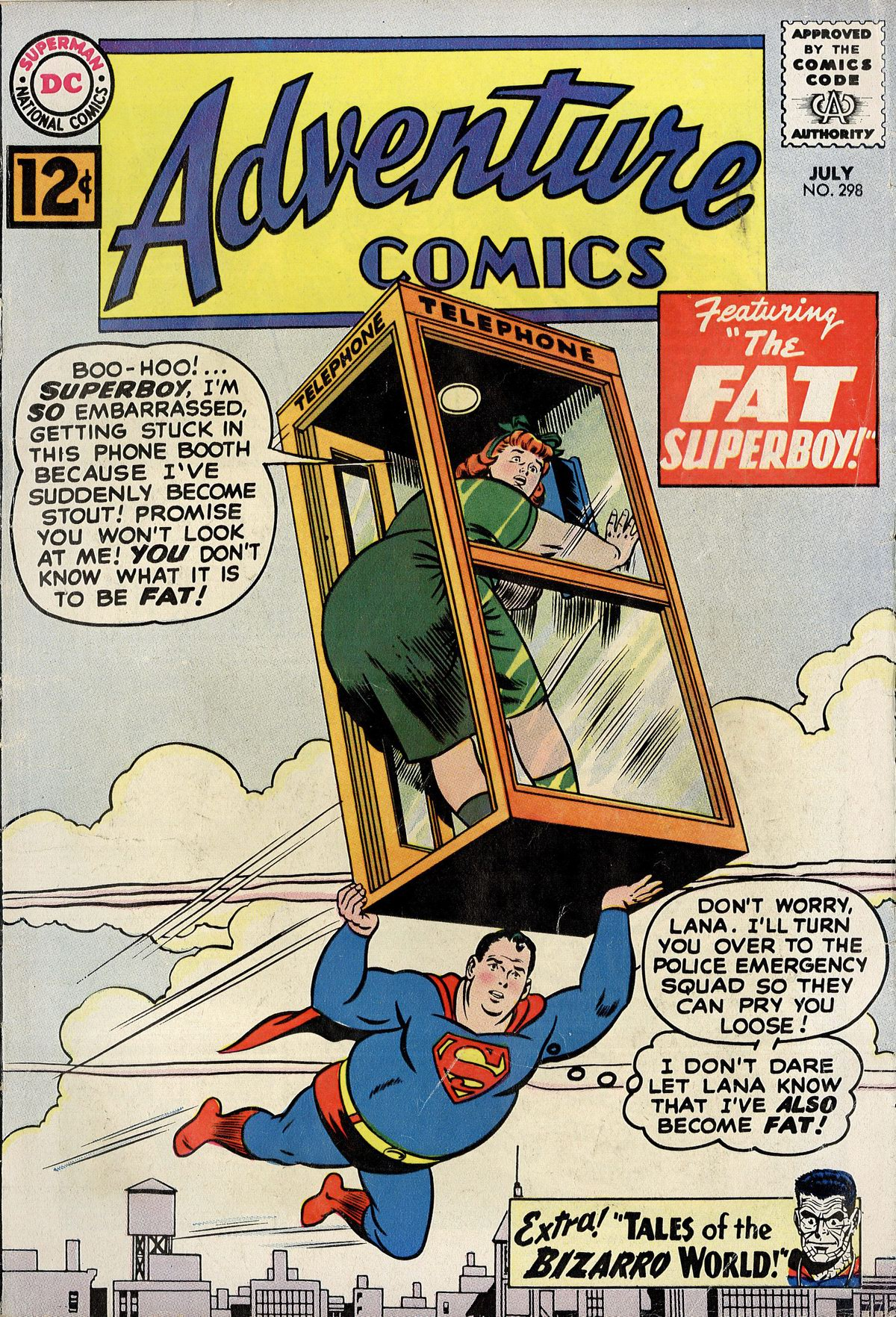 Read online Adventure Comics (1938) comic -  Issue #298 - 1