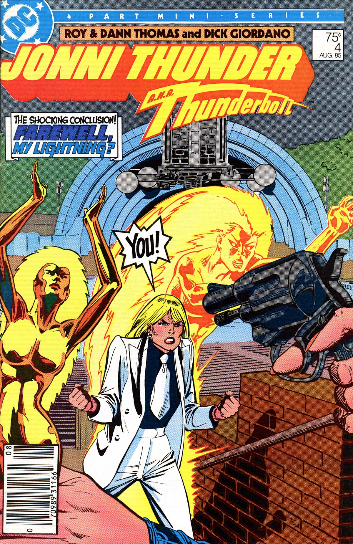 Read online Jonni Thunder comic -  Issue #4 - 1
