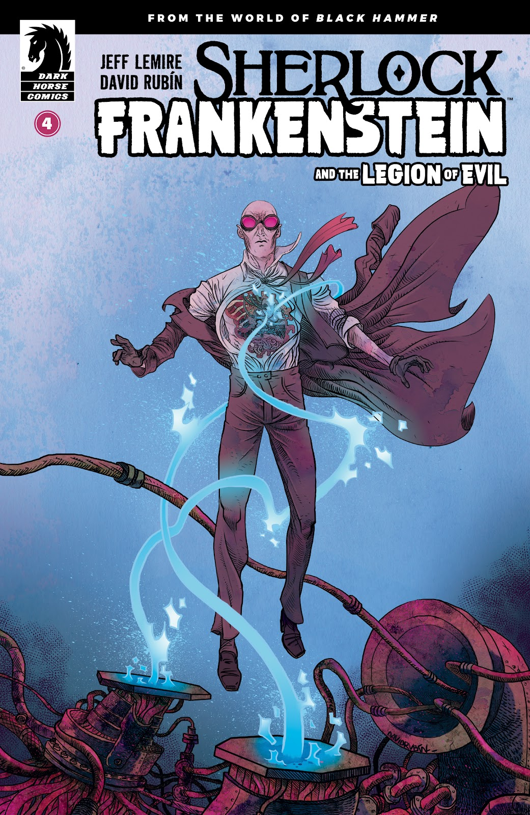 Read online Sherlock Frankenstein and the Legion of Evil comic -  Issue #4 - 1