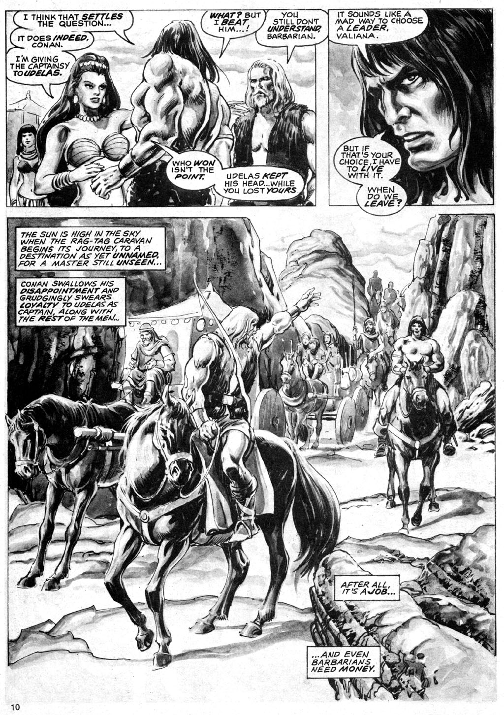 The Savage Sword Of Conan Issue #69 #70 - English 10