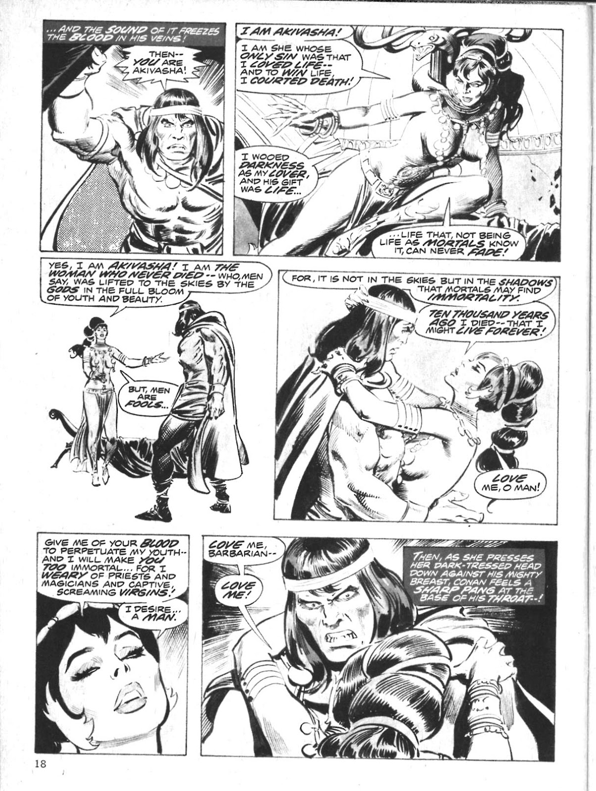 The Savage Sword Of Conan Issue #10 #11 - English 18