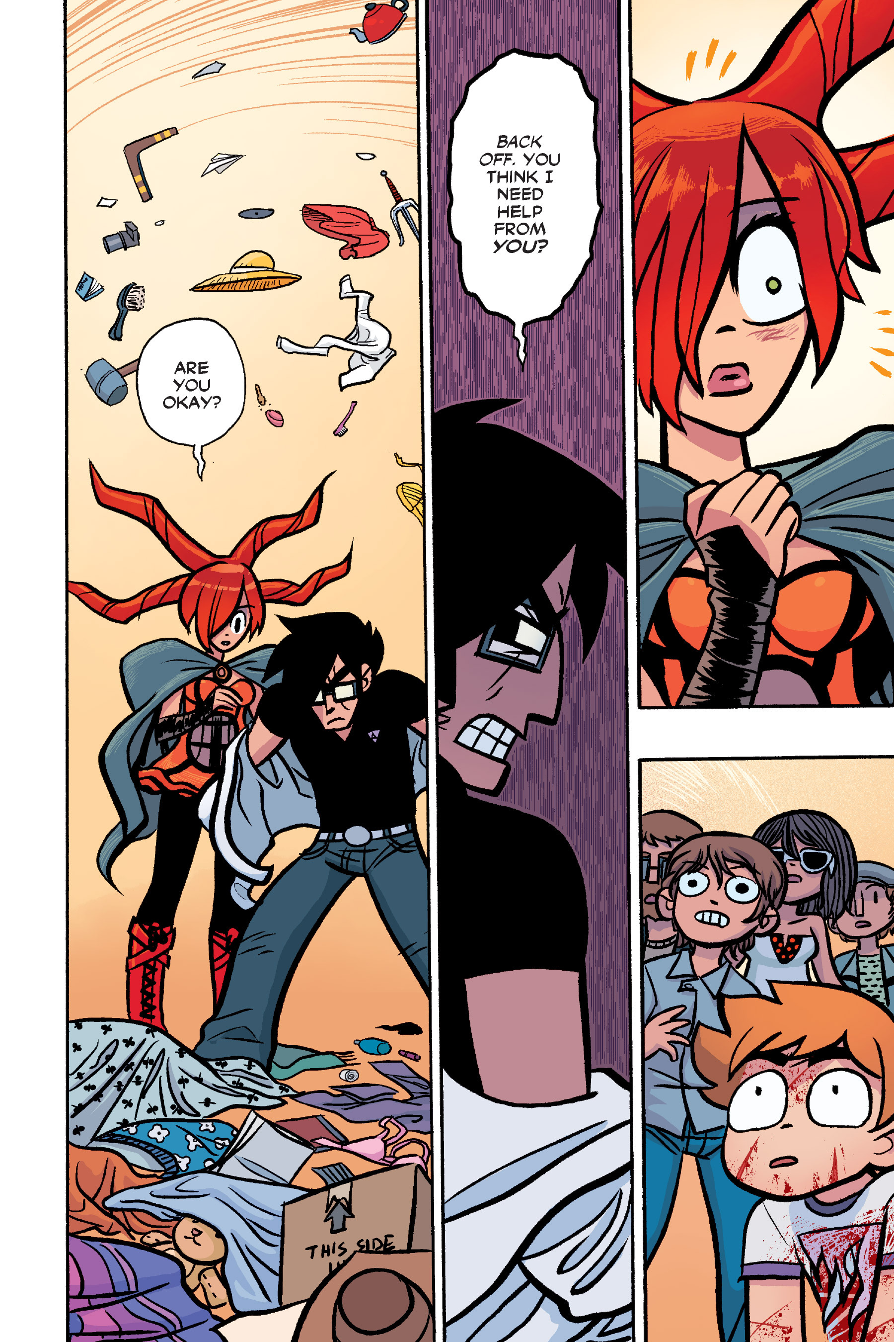 Read online Scott Pilgrim comic -  Issue #6 - 191