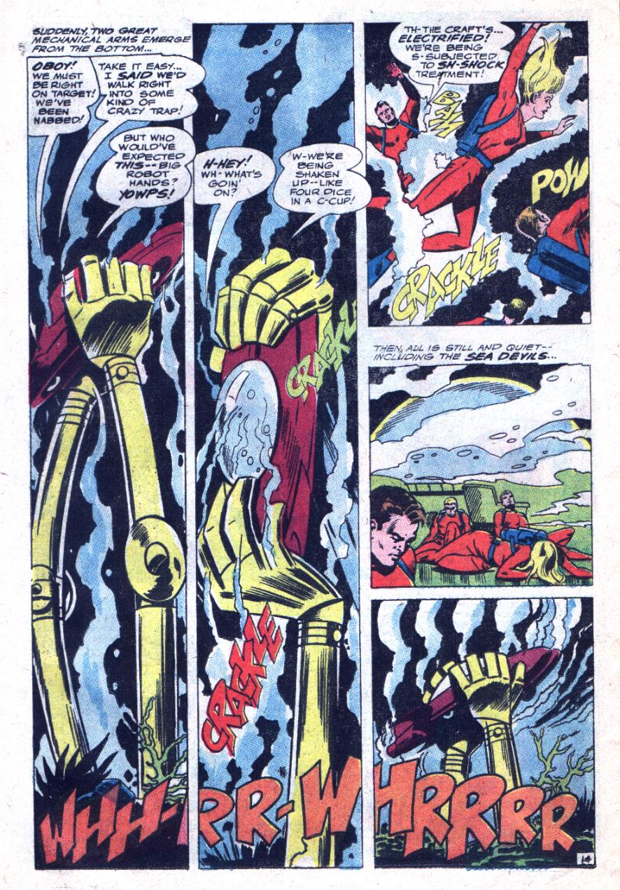 Read online Sea Devils comic -  Issue #33 - 21