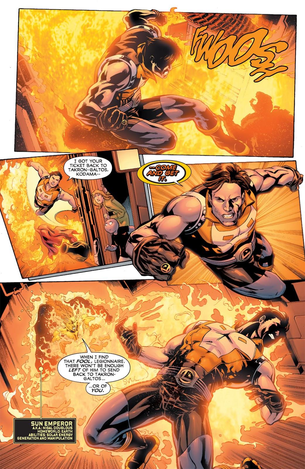 Legion of Super-Heroes (2010) Issue #11 #12 - English 14