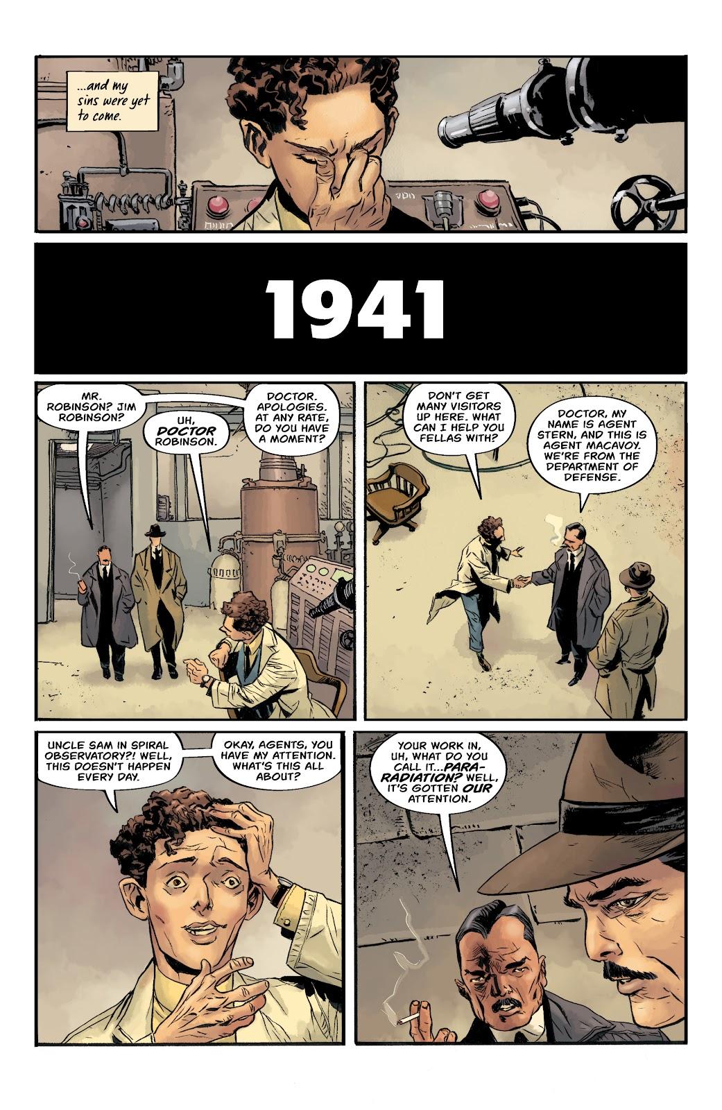 Read online Sherlock Frankenstein and the Legion of Evil comic -  Issue #4 - 20