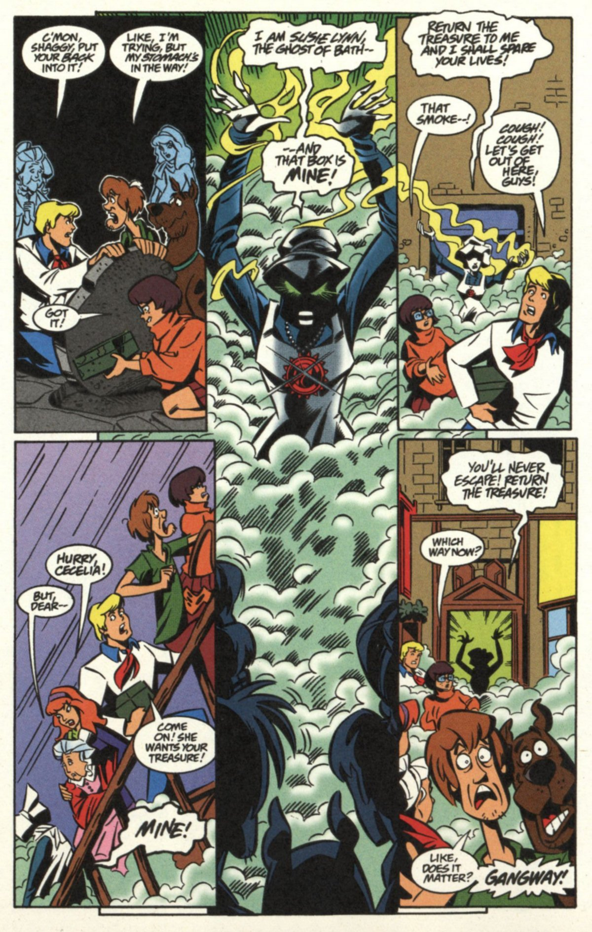 Read online Scooby-Doo (1997) comic -  Issue #19 - 19