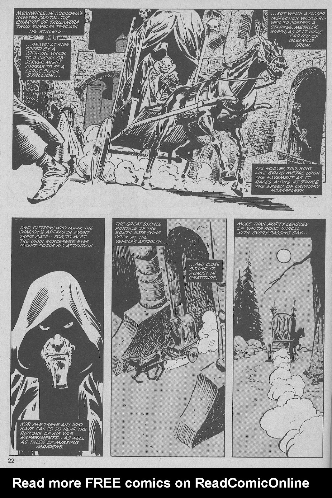 The Savage Sword Of Conan Issue #51 #52 - English 22