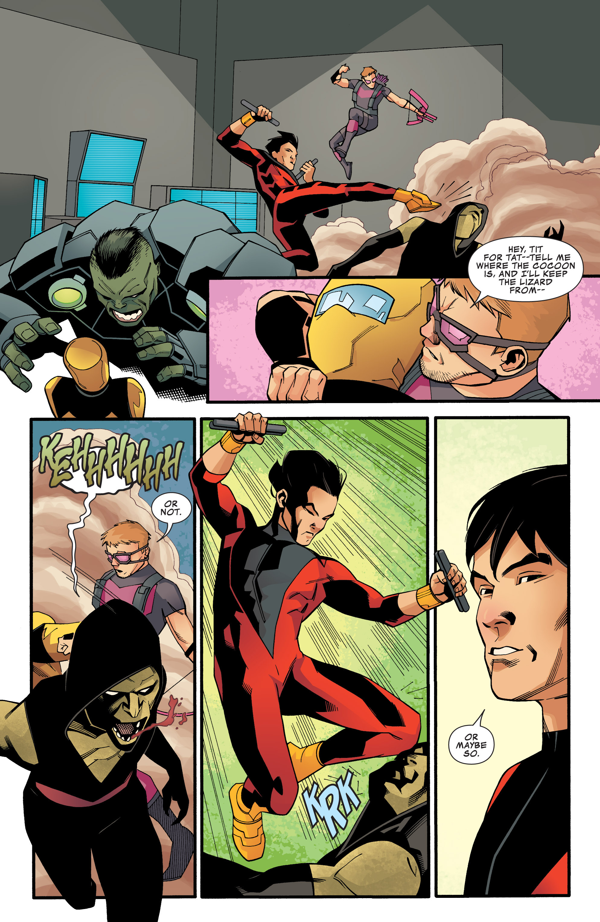 Read online Avengers Assemble (2012) comic -  Issue #25 - 13