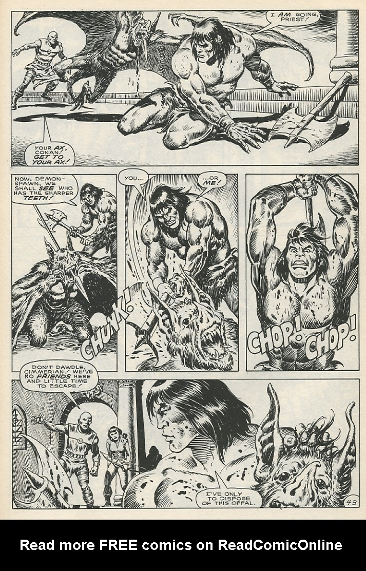 The Savage Sword Of Conan Issue #141 #142 - English 49