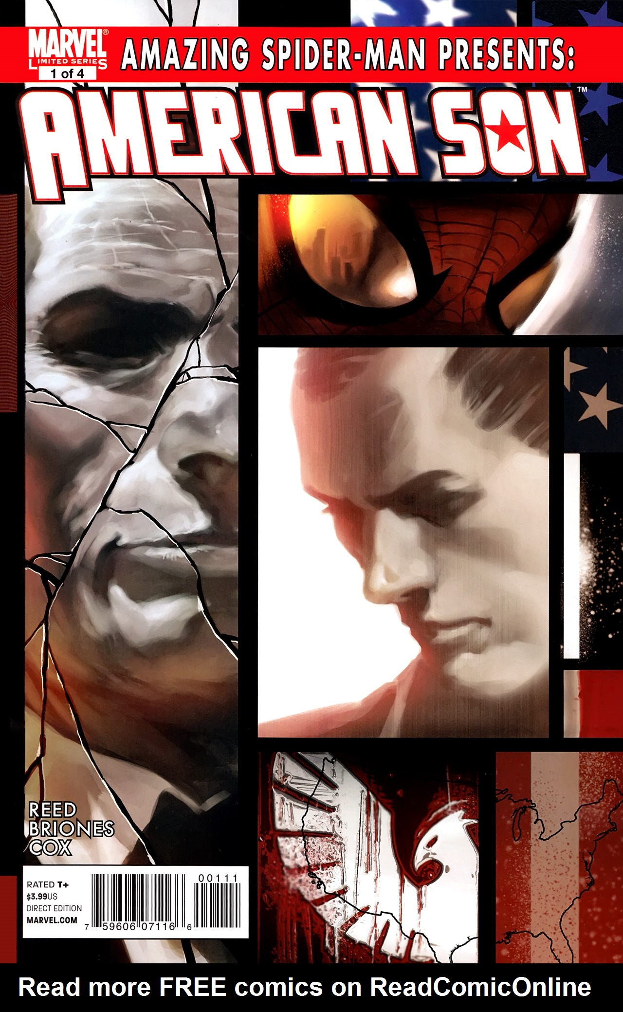Amazing Spider-Man Presents: American Son 1 Page 1