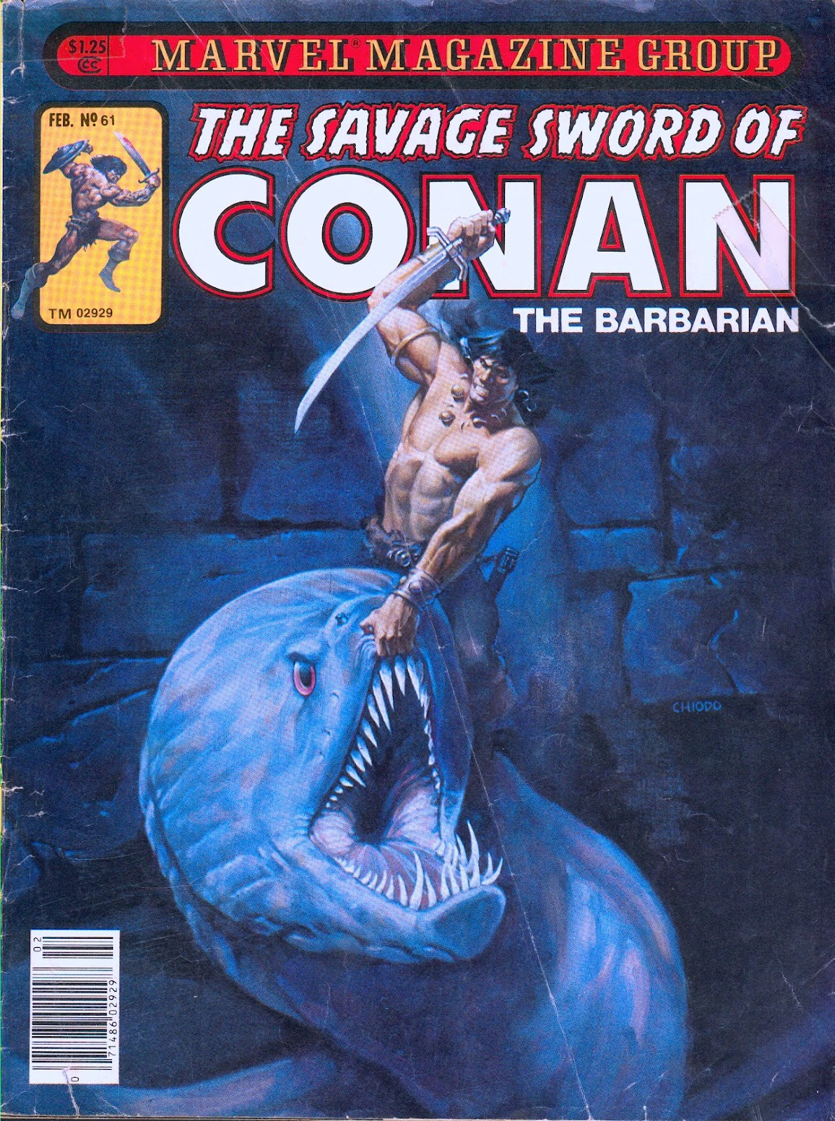The Savage Sword Of Conan Issue #61 #62 - English 1