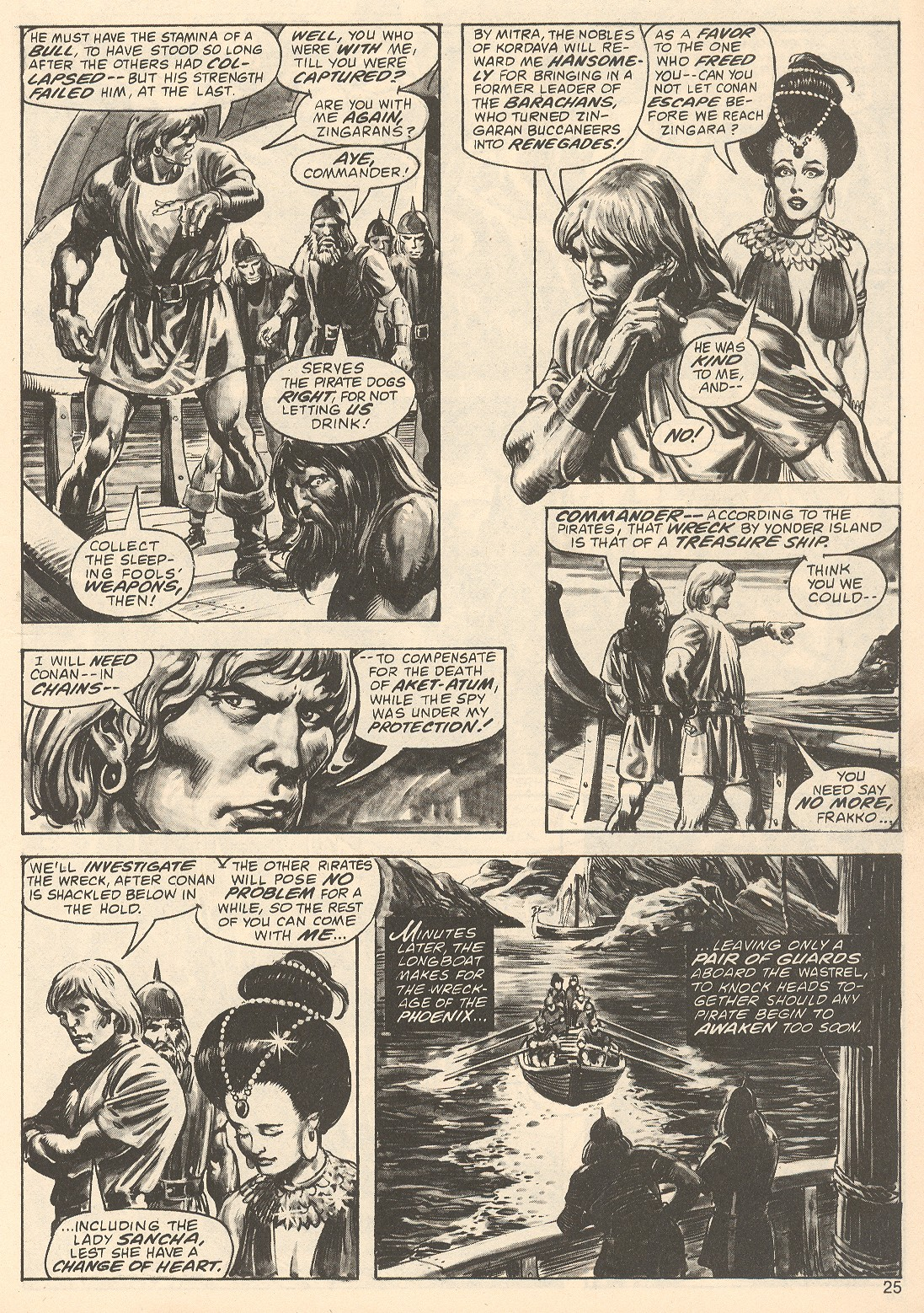 The Savage Sword Of Conan Issue #67 #68 - English 25
