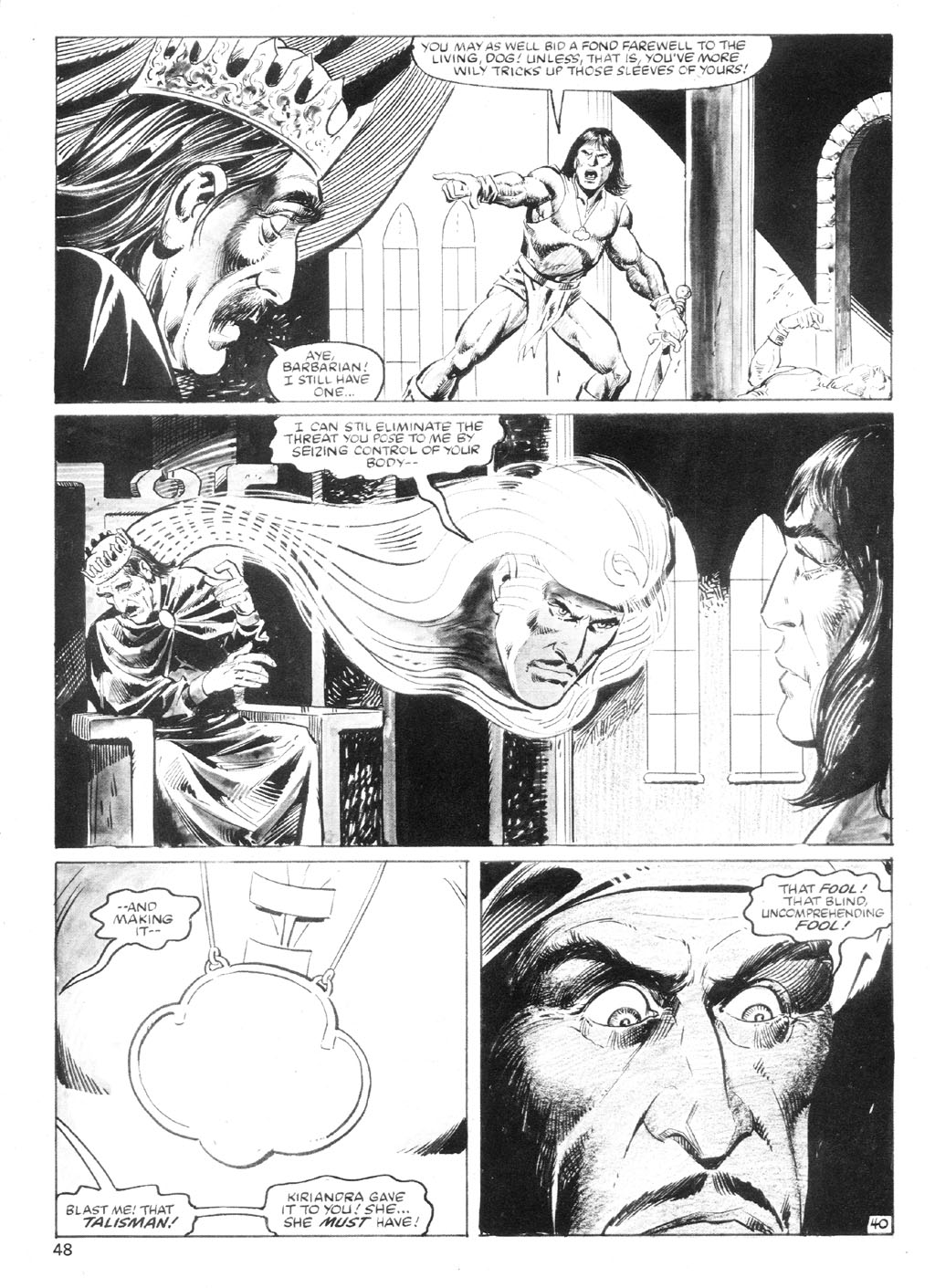 The Savage Sword Of Conan Issue #94 #95 - English 47