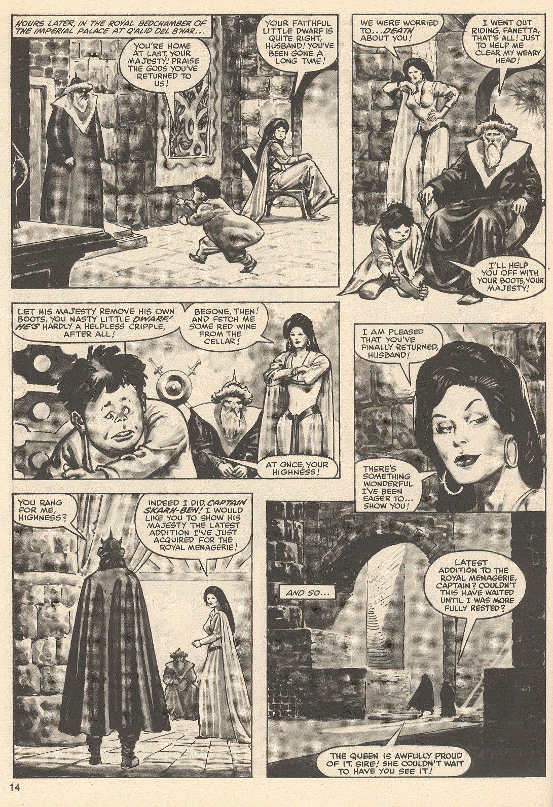 The Savage Sword Of Conan Issue #76 #77 - English 14