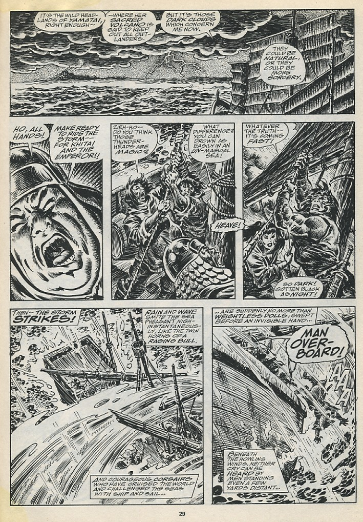 The Savage Sword Of Conan Issue #194 #195 - English 31