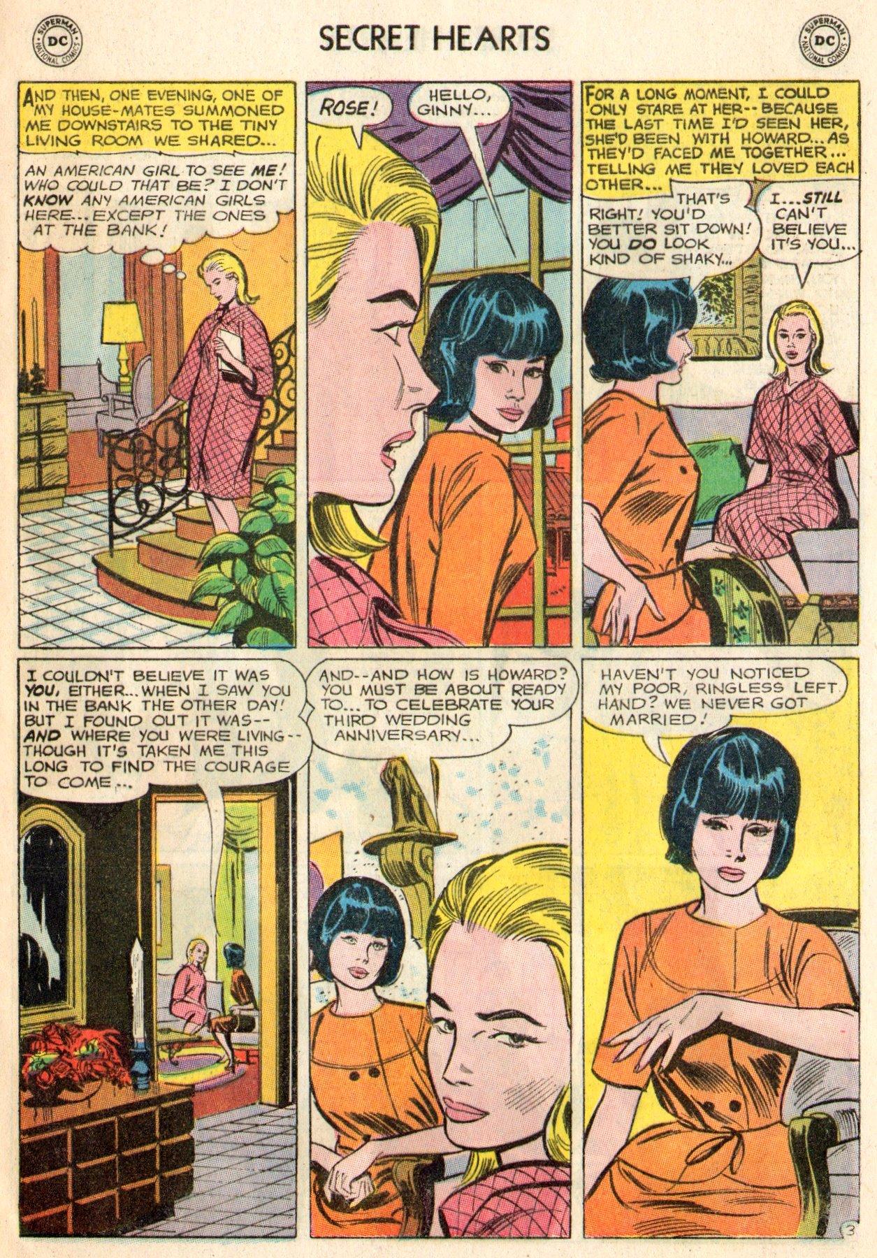 Read online Secret Hearts comic -  Issue #103 - 5