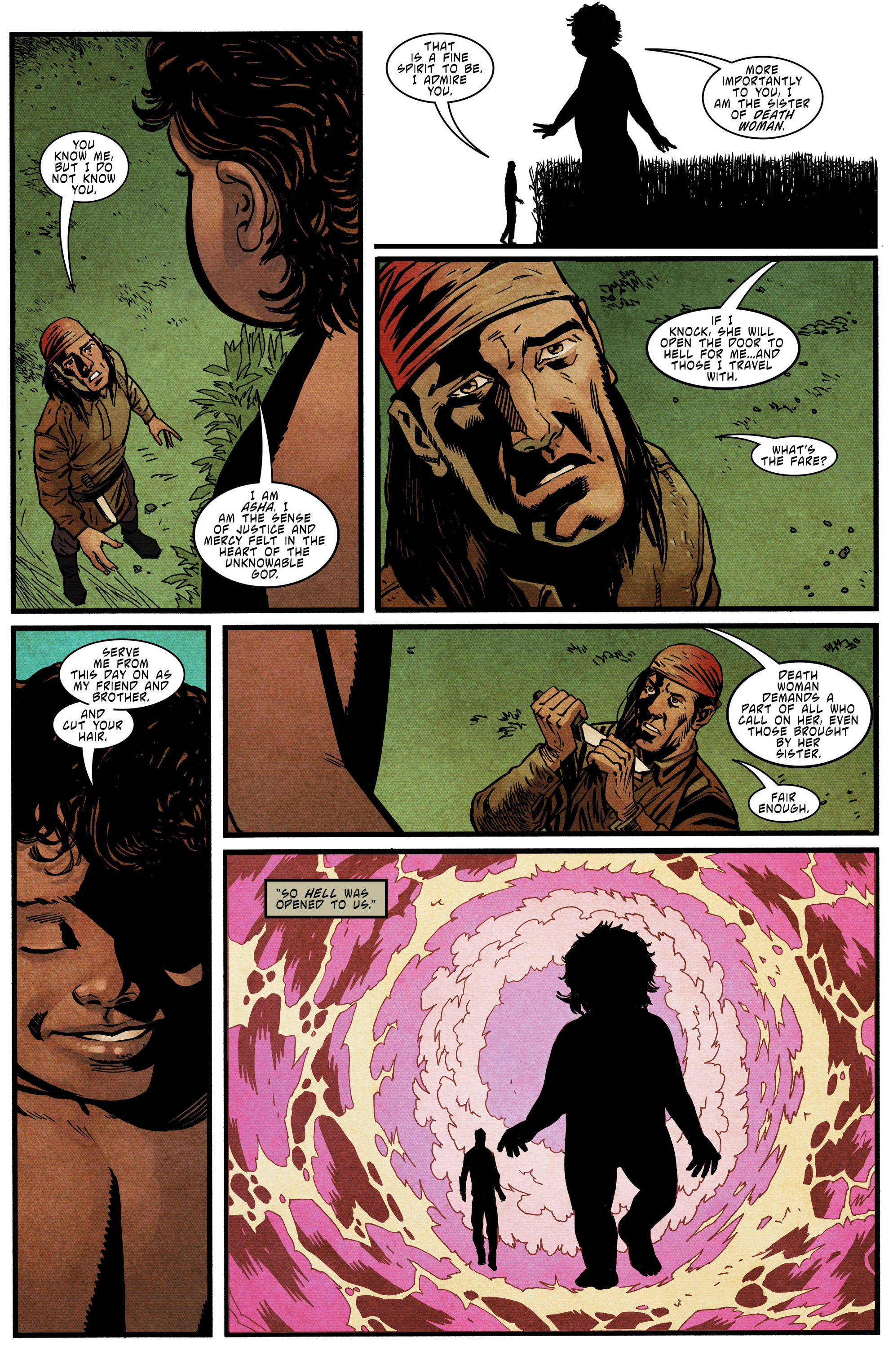 Read online Mythic comic -  Issue #6 - 21