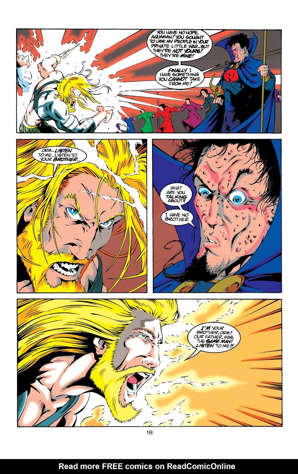 Aquaman (1994) Issue #20 #26 - English 18
