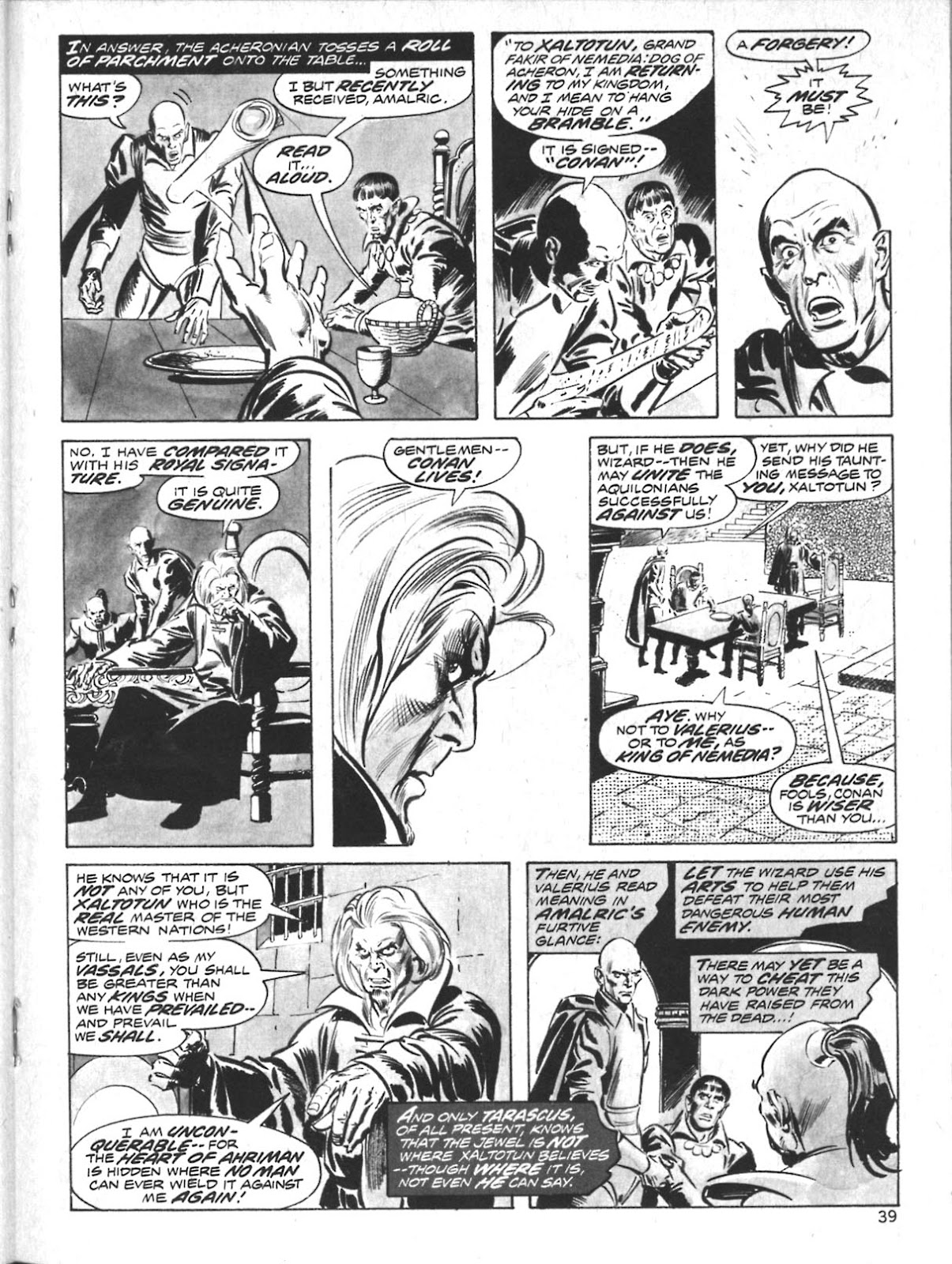 The Savage Sword Of Conan Issue #10 #11 - English 31