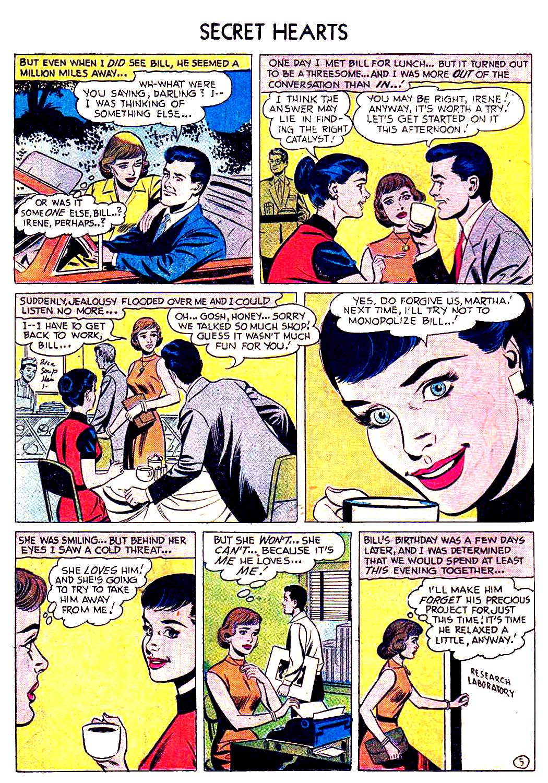 Read online Secret Hearts comic -  Issue #41 - 14