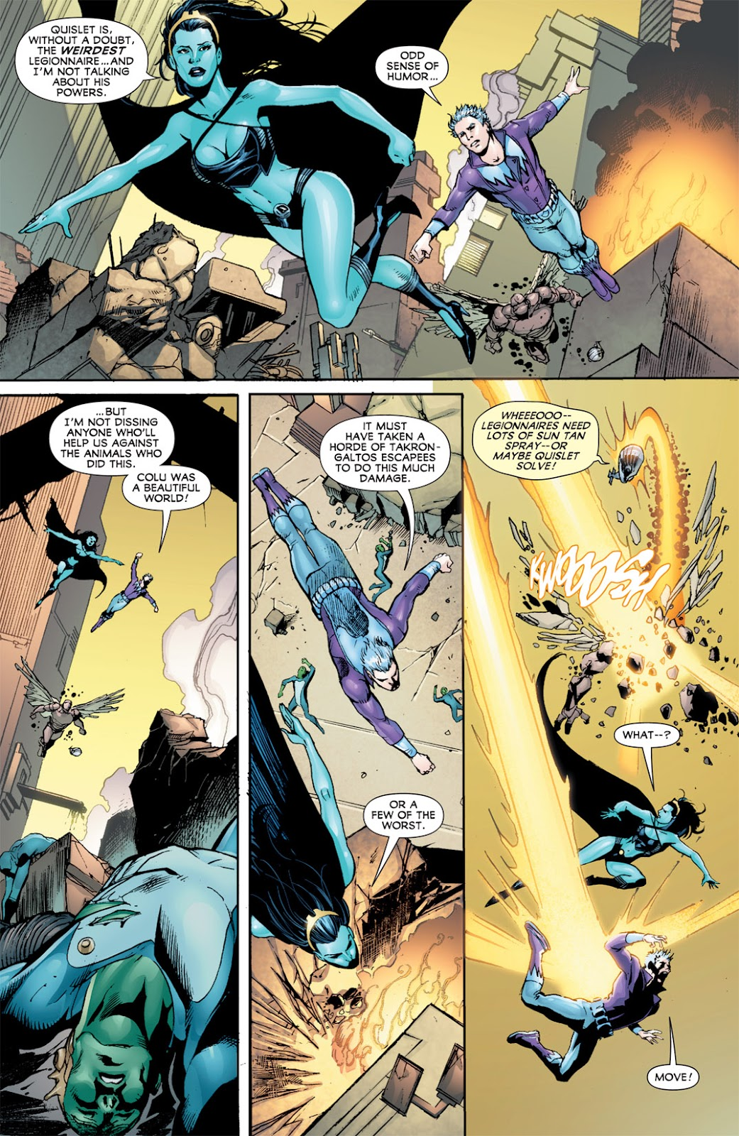 Legion of Super-Heroes (2010) Issue #13 #14 - English 9