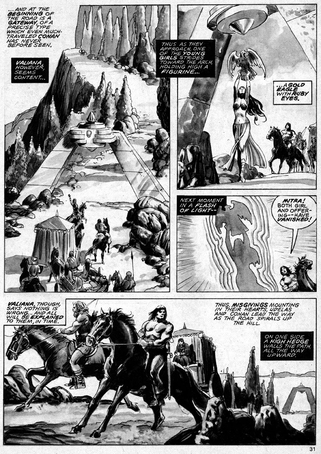 The Savage Sword Of Conan Issue #69 #70 - English 31