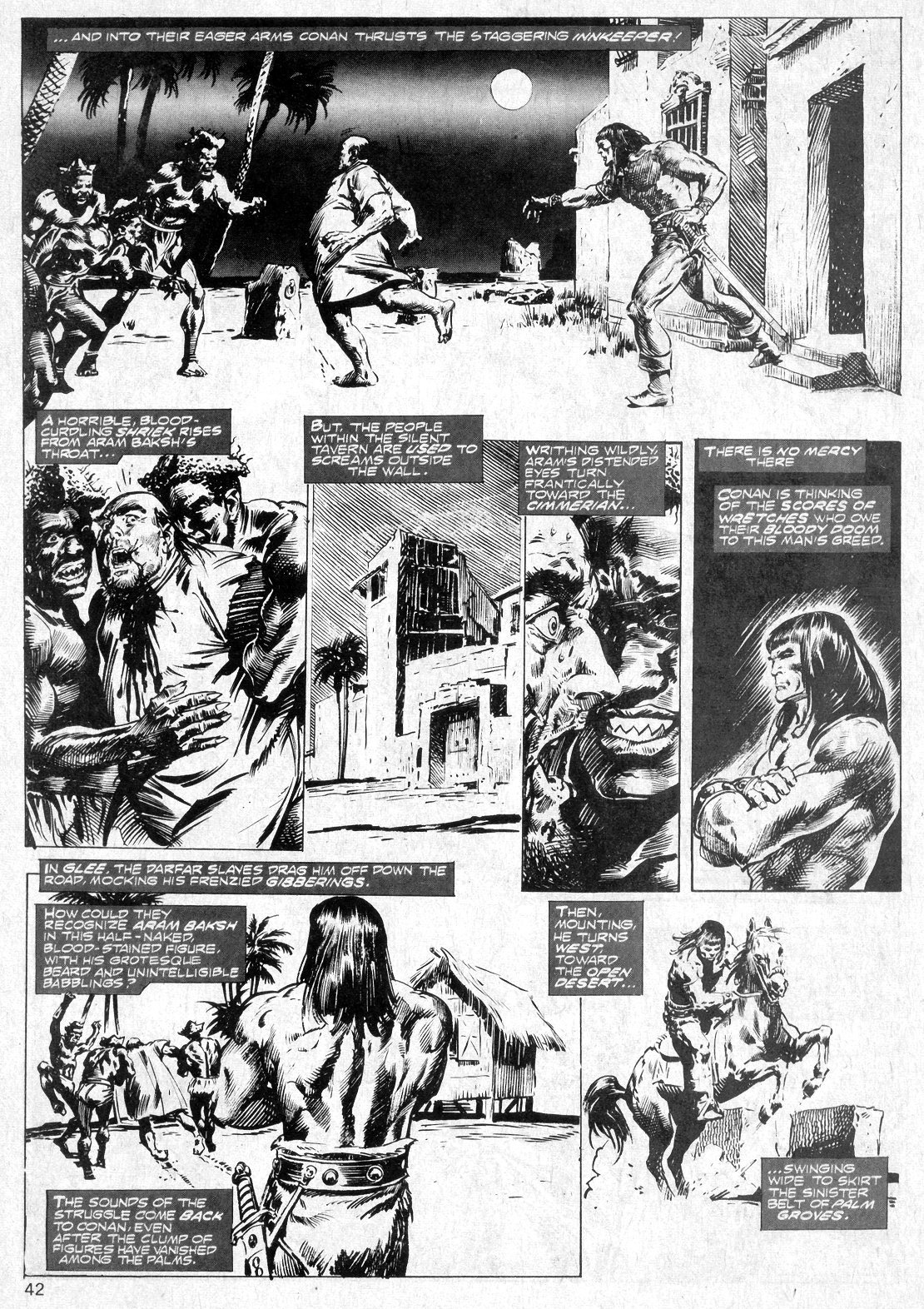 The Savage Sword Of Conan Issue #14 #15 - English 42