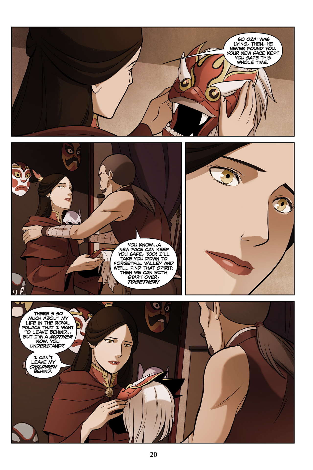 Read online Nickelodeon Avatar: The Last Airbender - The Search comic -  Issue # Part 3 - 21