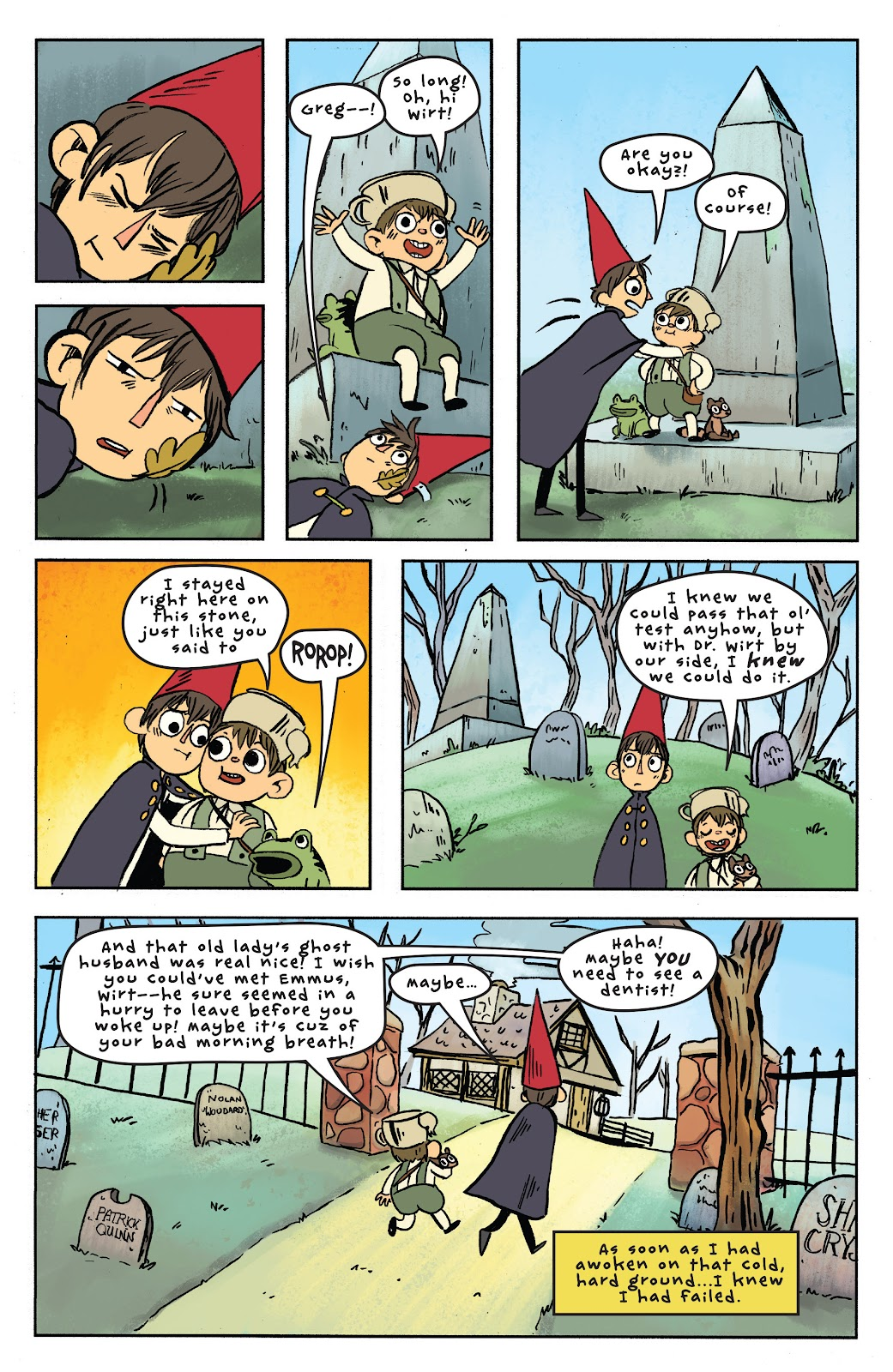 Over the Garden Wall (2016) Issue #6 #6 - English 23