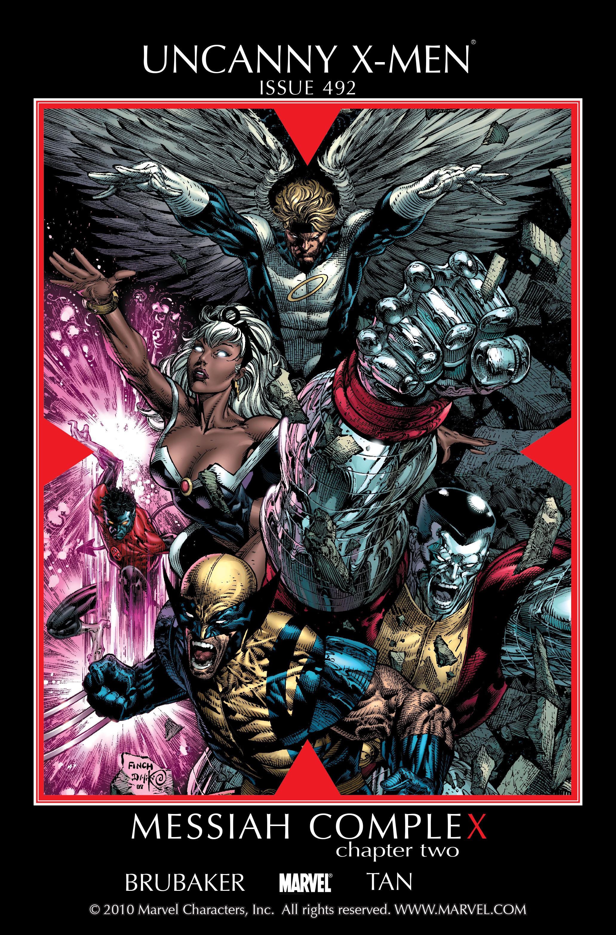 Uncanny X-Men (1963) 492 Page 1