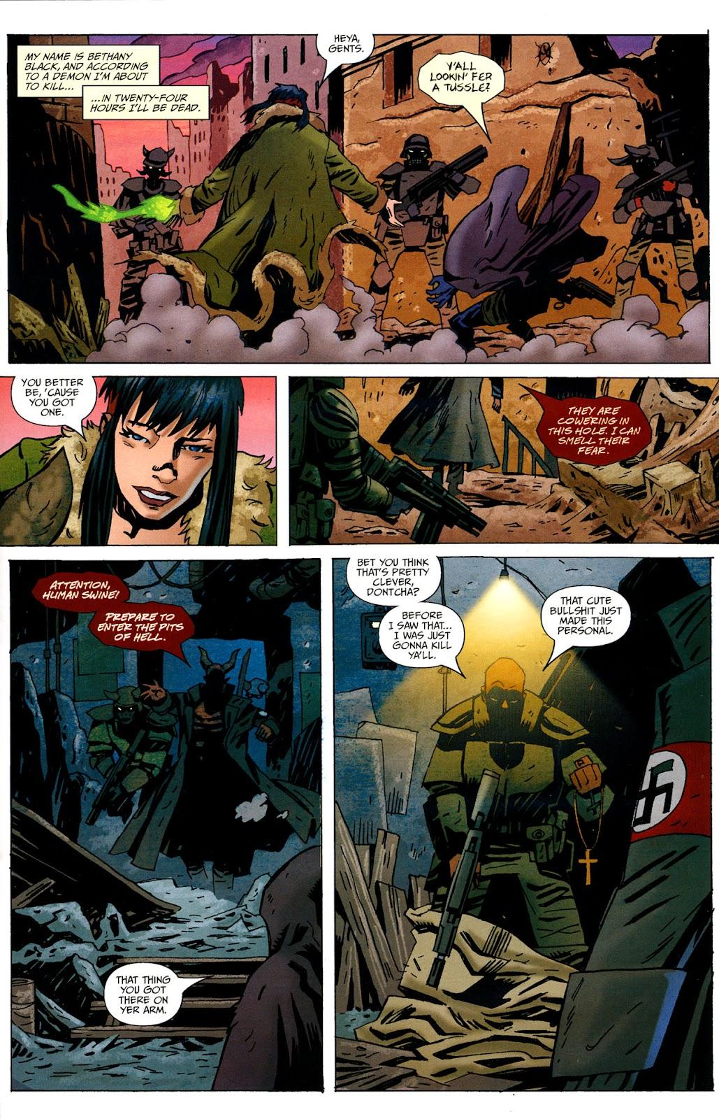 Strange Girl Issue #16 #17 - English 5