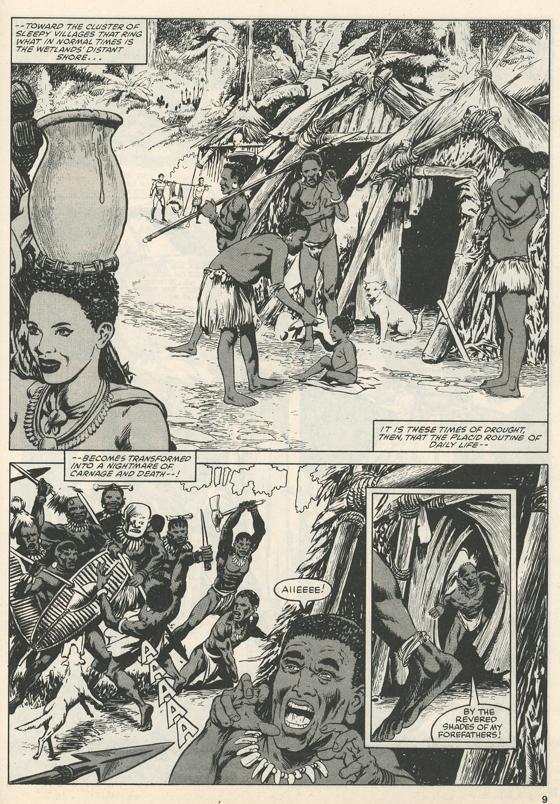 The Savage Sword Of Conan Issue #111 #112 - English 9