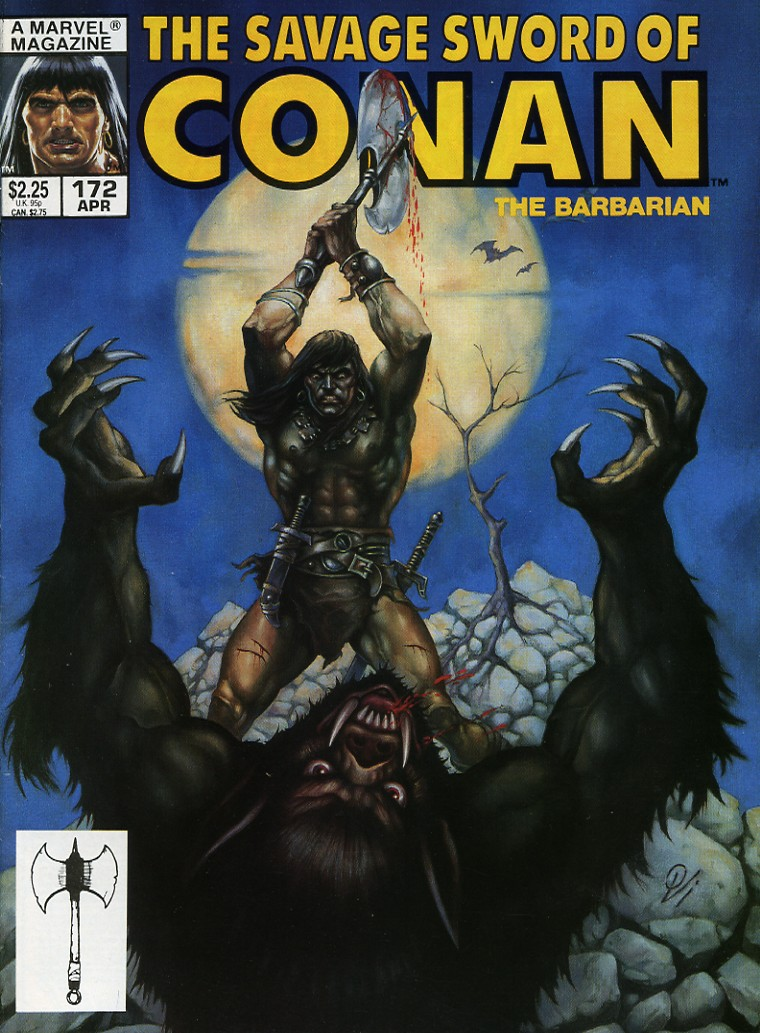 The Savage Sword Of Conan Issue #172 #173 - English 1