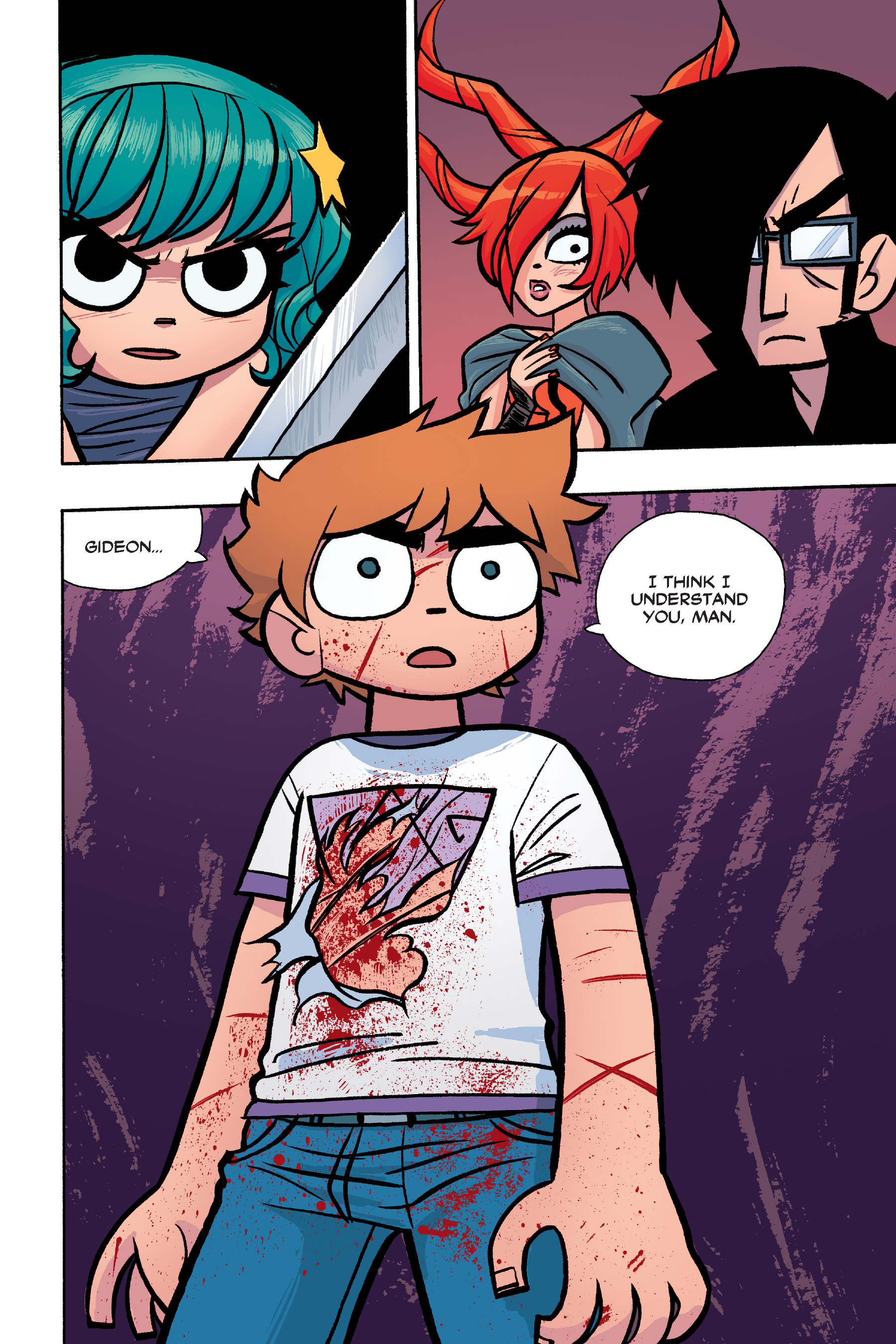 Read online Scott Pilgrim comic -  Issue #6 - 195