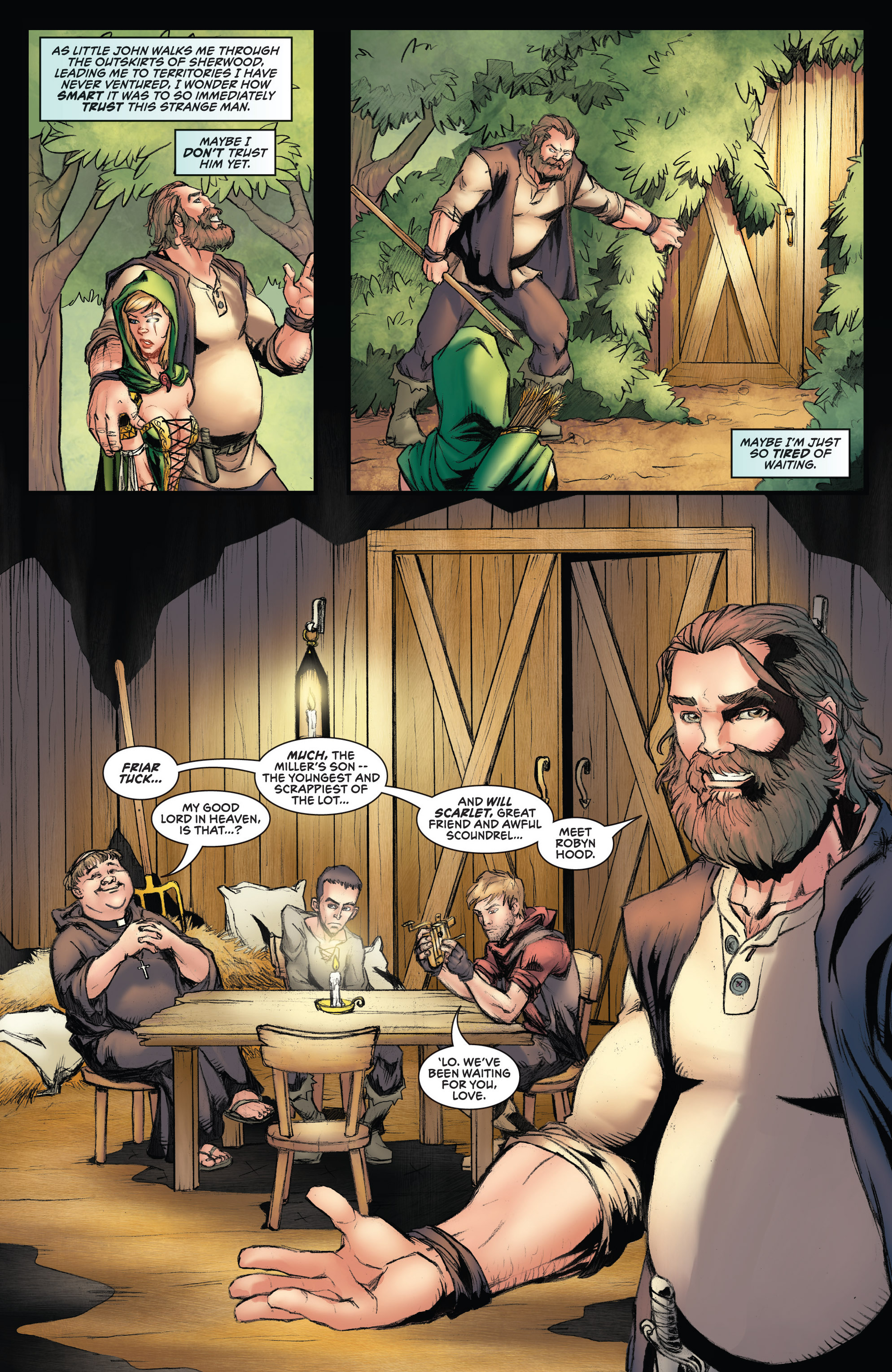 Read online Grimm Fairy Tales presents Robyn Hood (2012) comic -  Issue #3 - 12