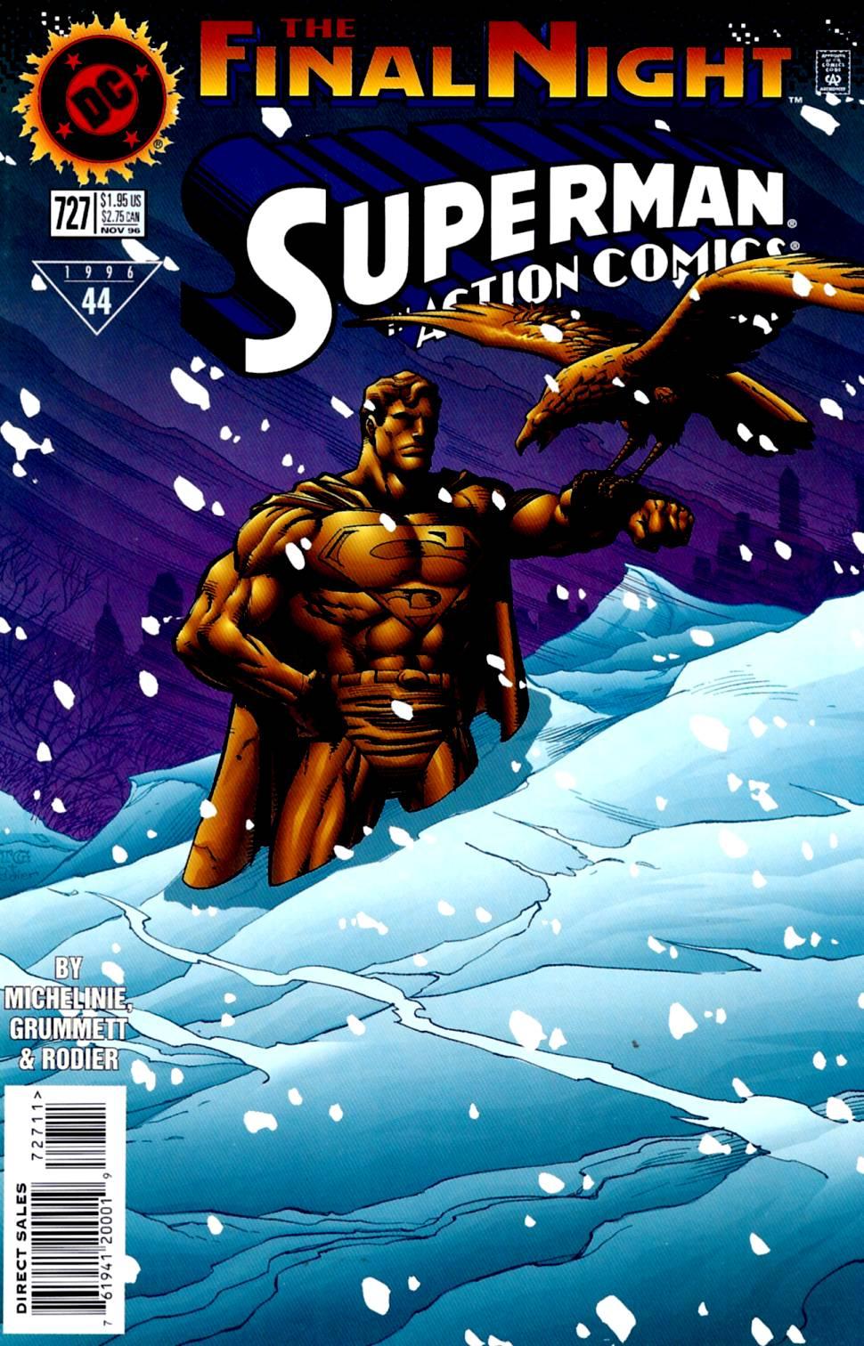 Action Comics (1938) 727 Page 1