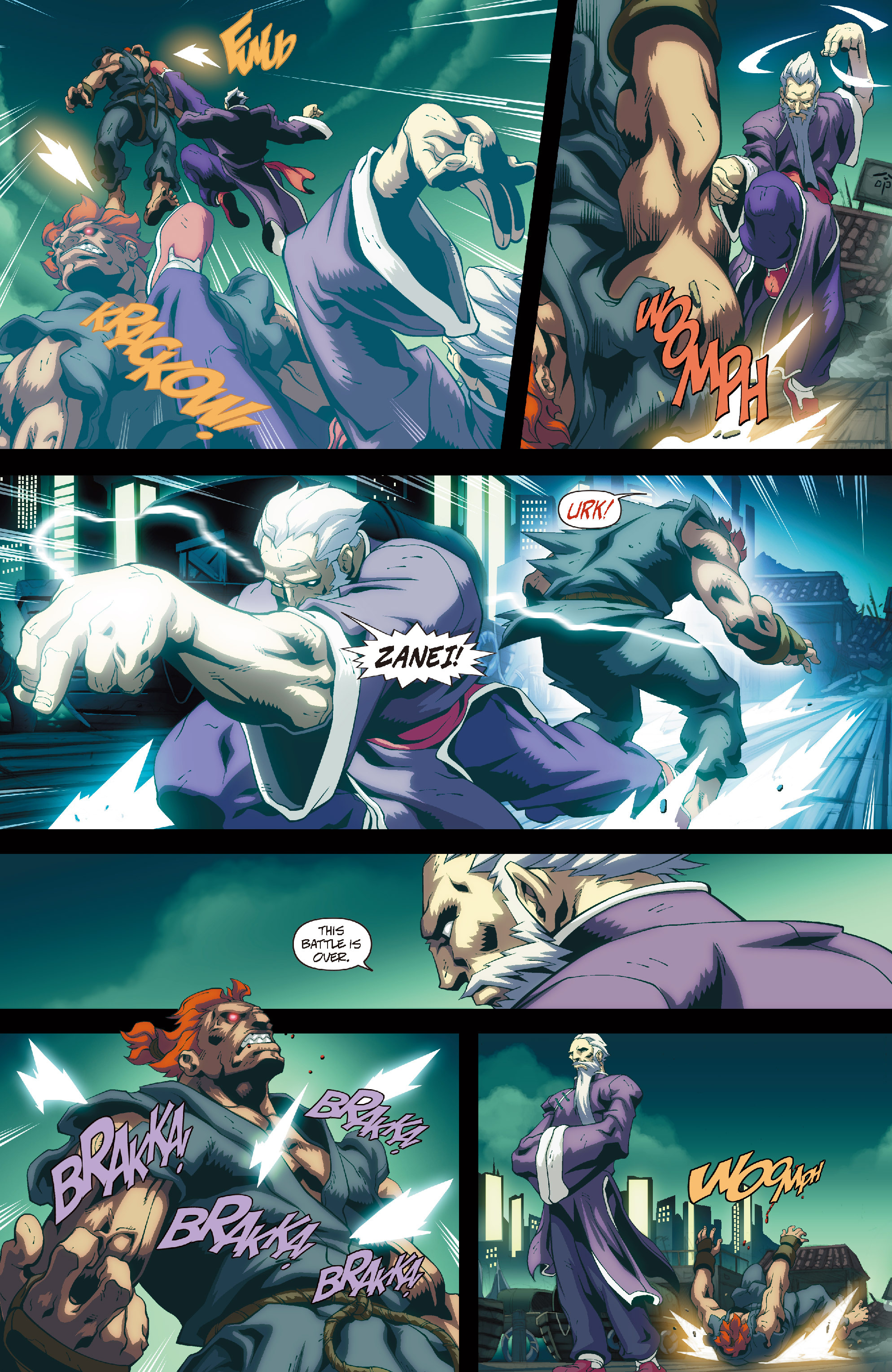 Street Fighter II chap 4 pic 7