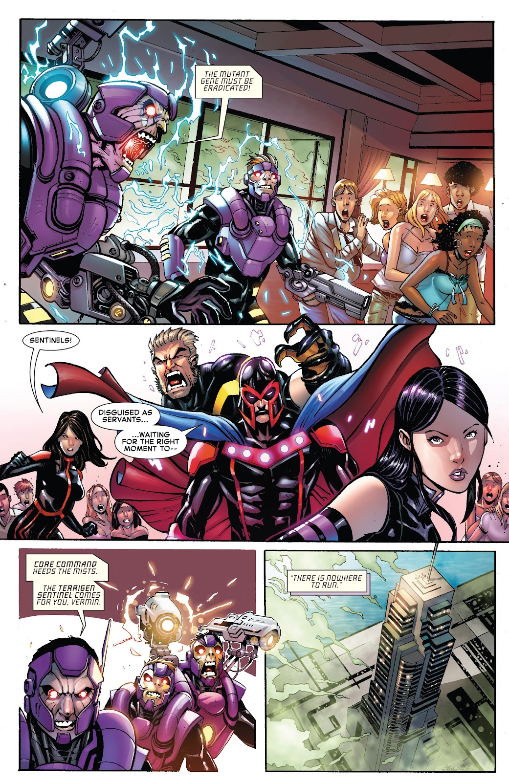 Civil War II: X-Men Issue #1 #1 - English 10