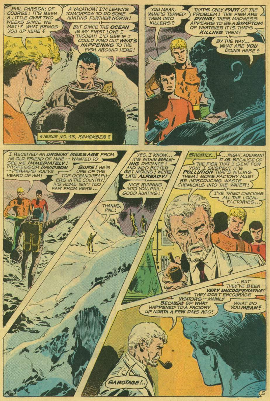 Aquaman (1962) Issue #49 #49 - English 7